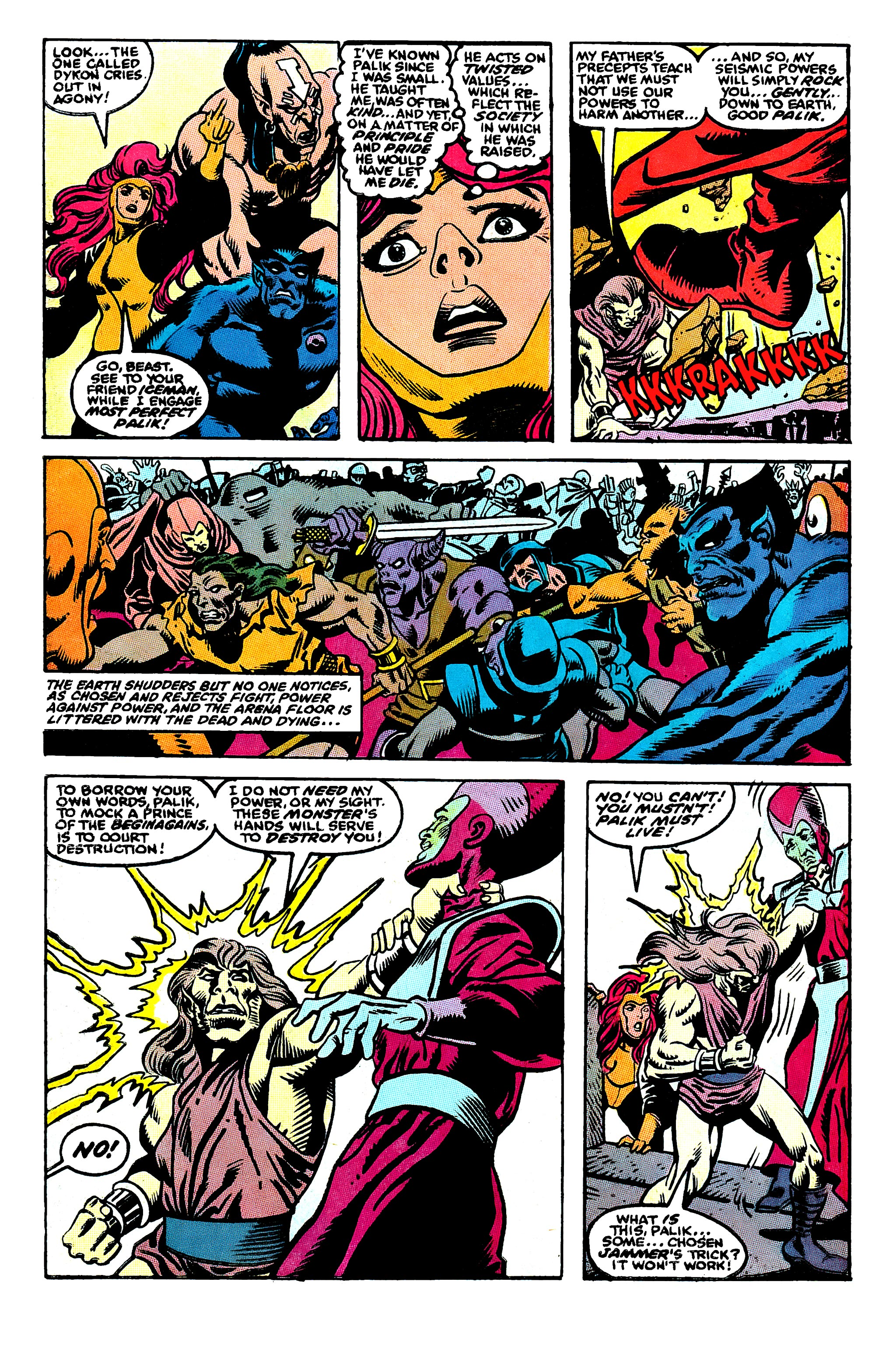 Read online X-Factor (1986) comic -  Issue #50 - 17