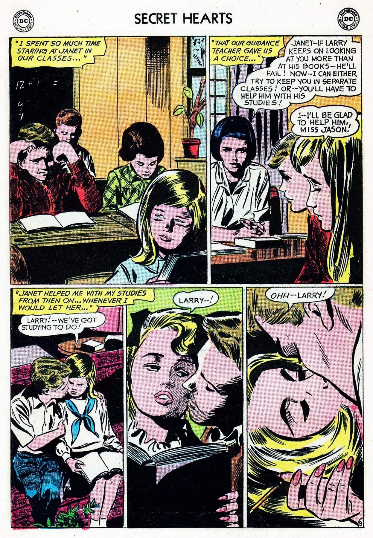 Read online Secret Hearts comic -  Issue #105 - 29
