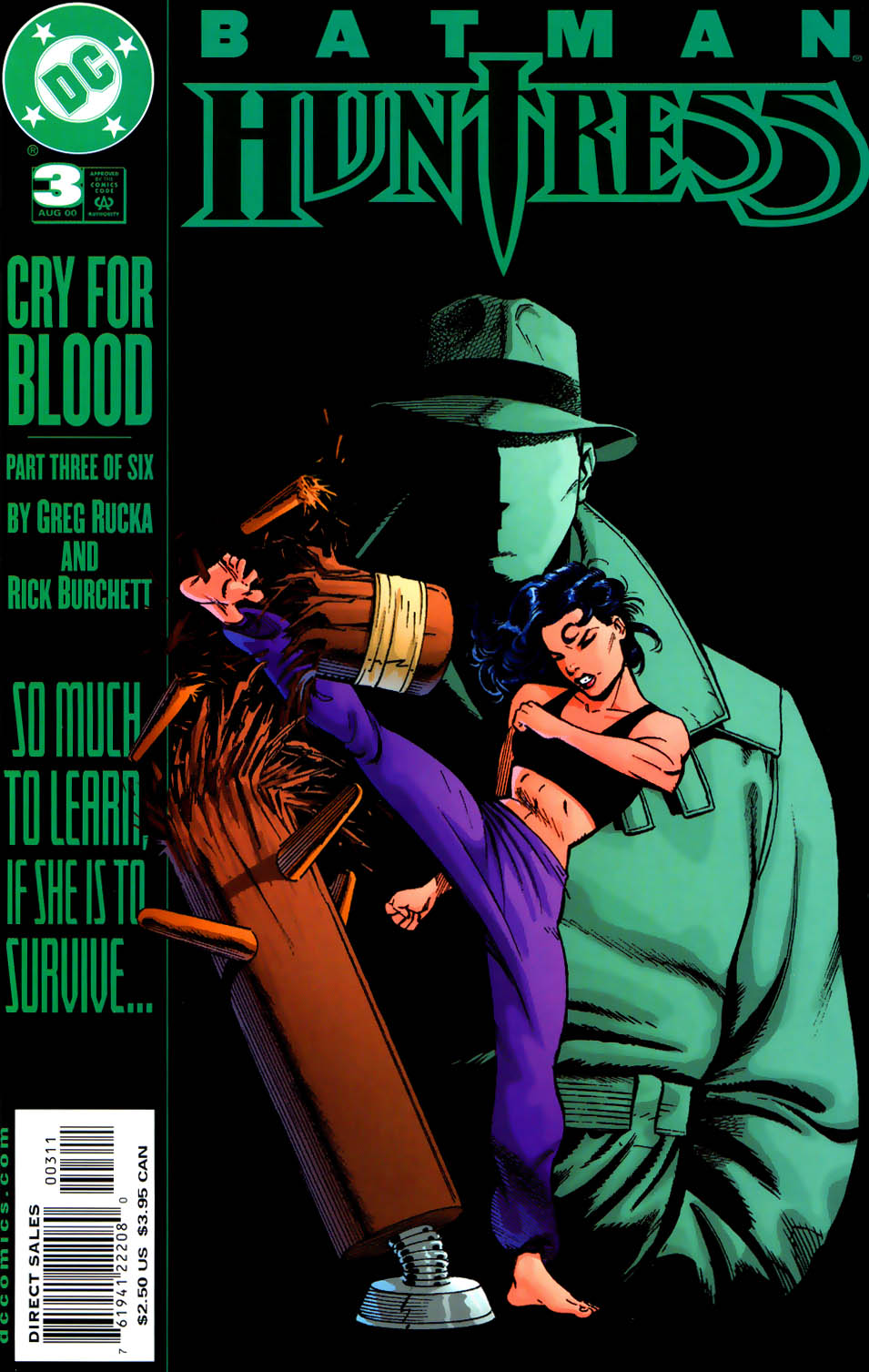 Read online Batman/Huntress: Cry for Blood comic -  Issue #3 - 1