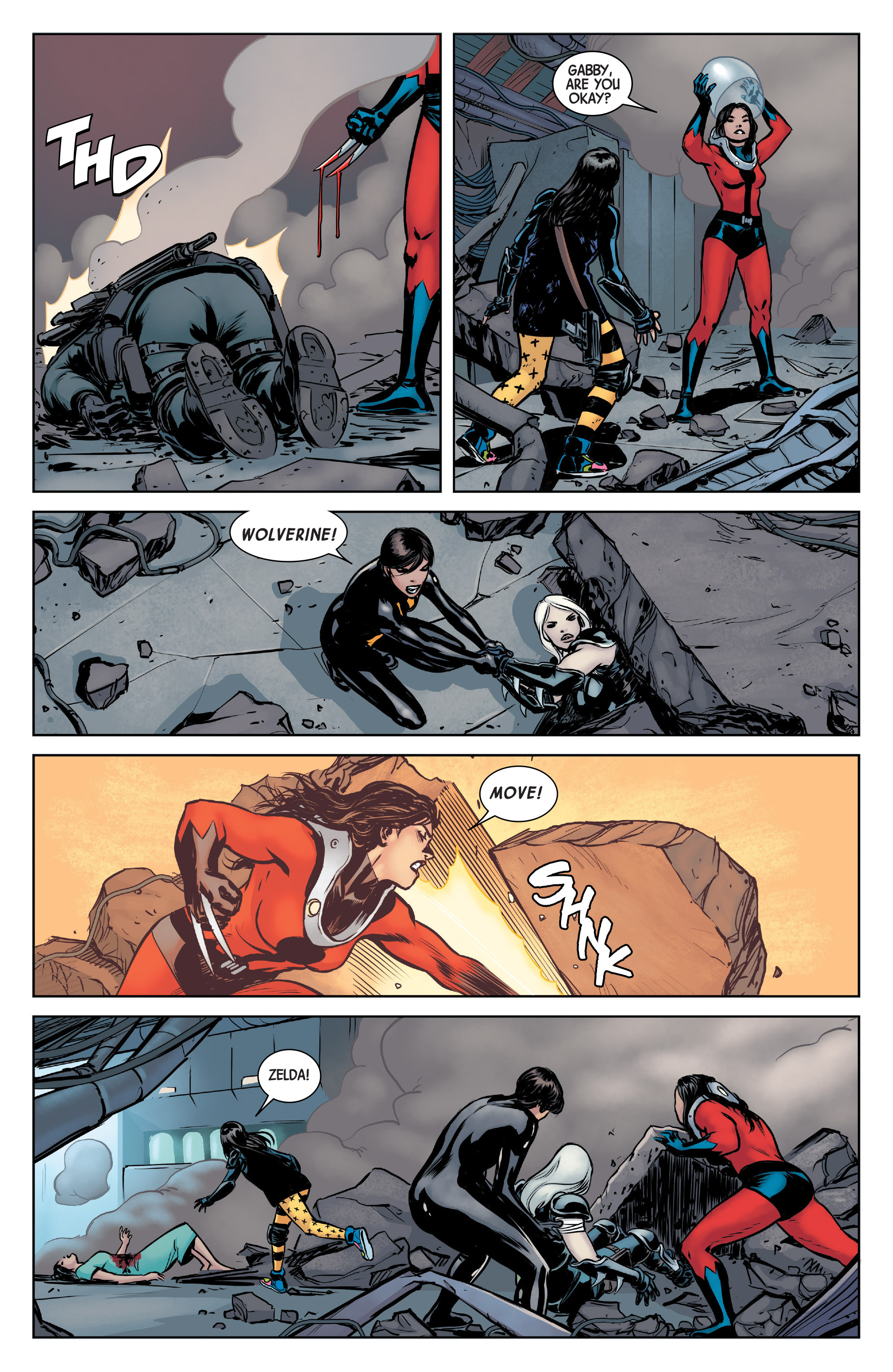 Read online All-New Wolverine (2016) comic -  Issue #5 - 19