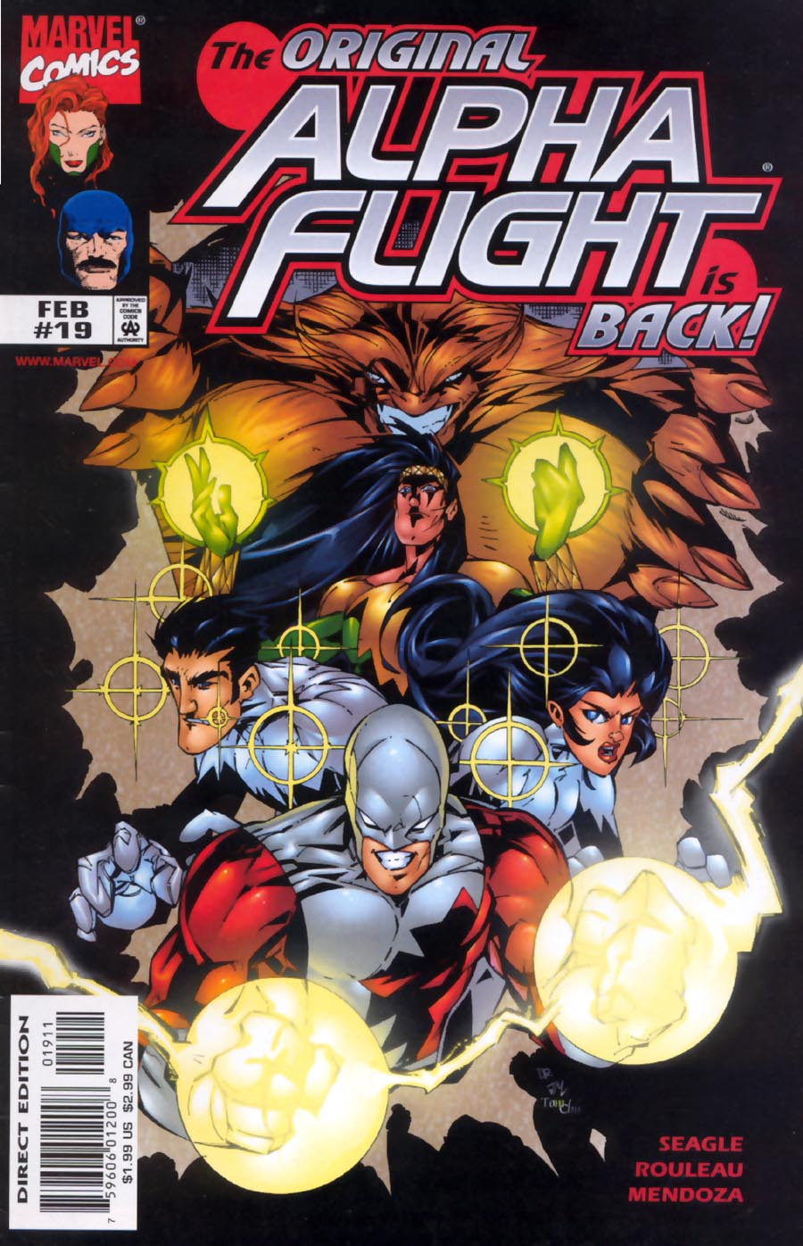 Alpha Flight (1997) 19 Page 1
