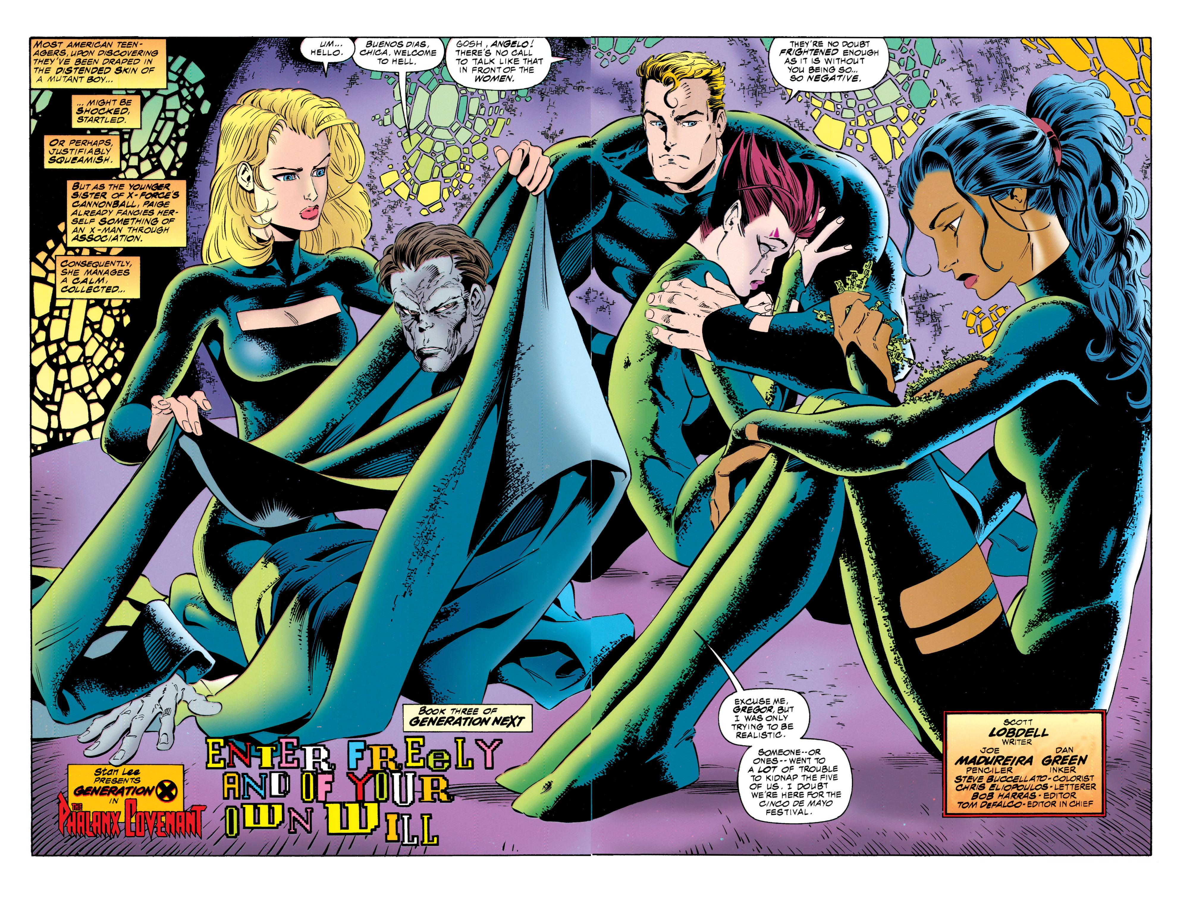 Read online Uncanny X-Men (1963) comic -  Issue #317 - 4