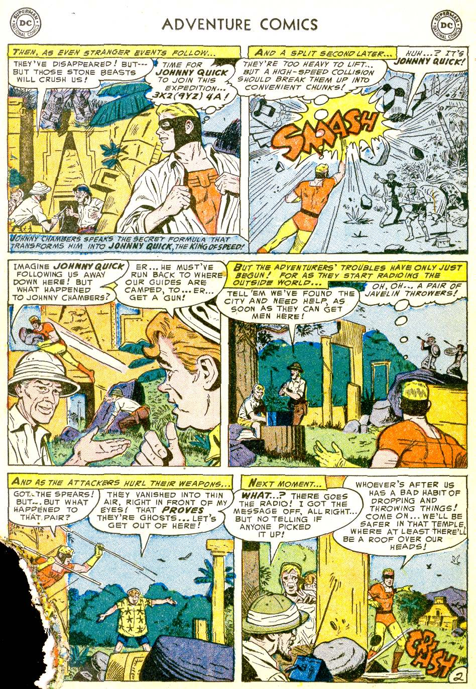 Read online Adventure Comics (1938) comic -  Issue #194 - 26