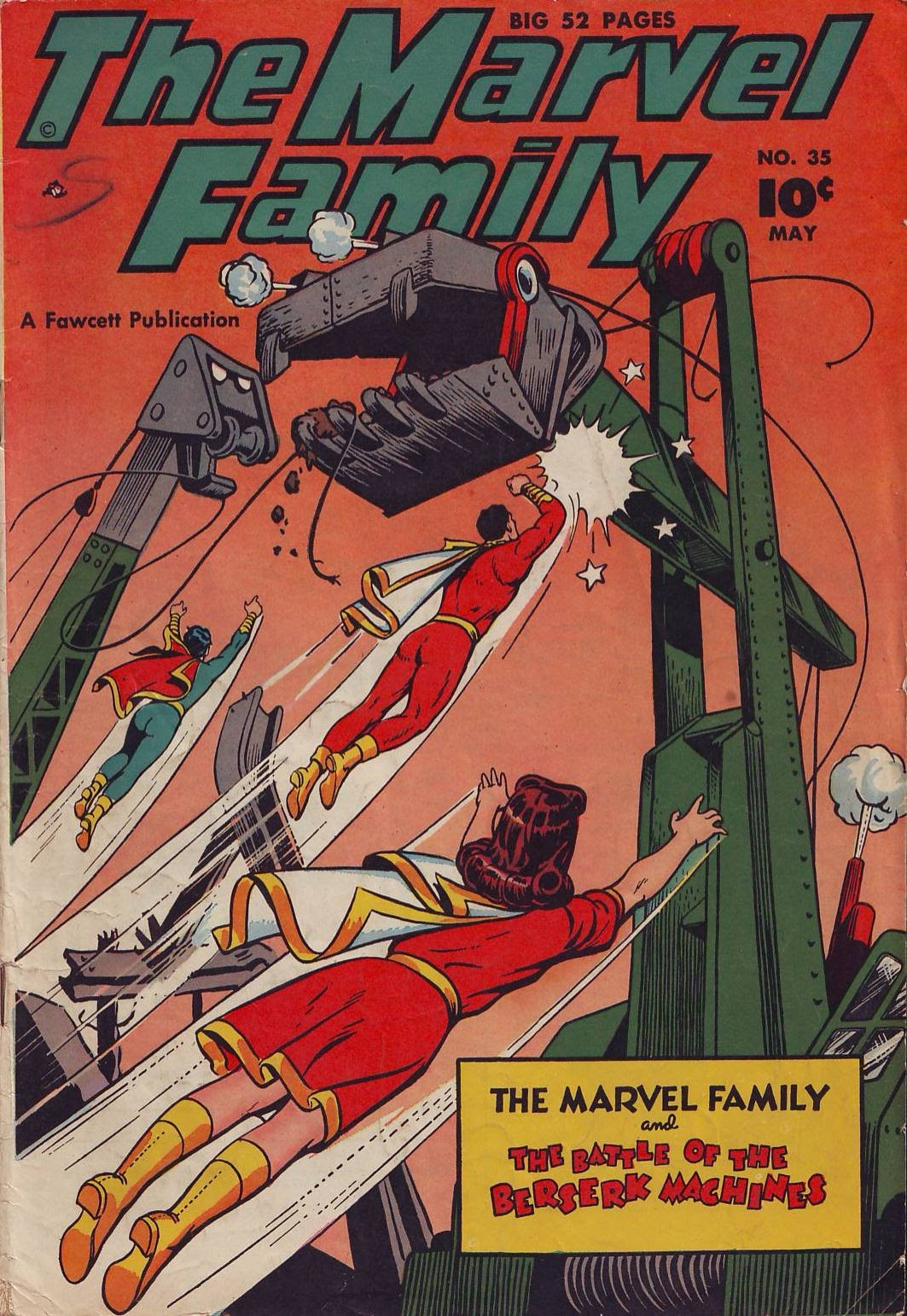 The Marvel Family 35 Page 1