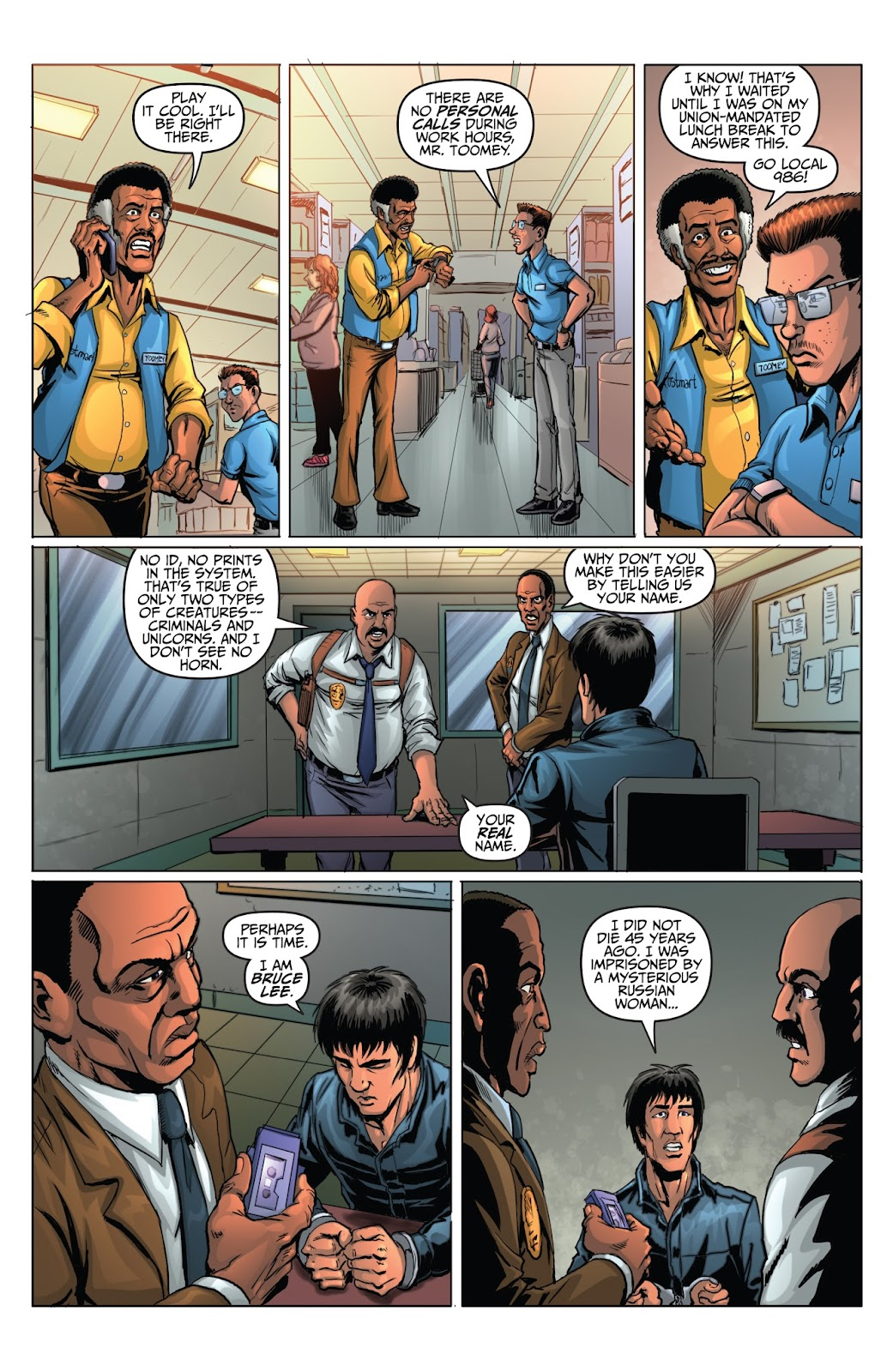 Bruce Lee: Walk of the Dragon issue Full - Page 20