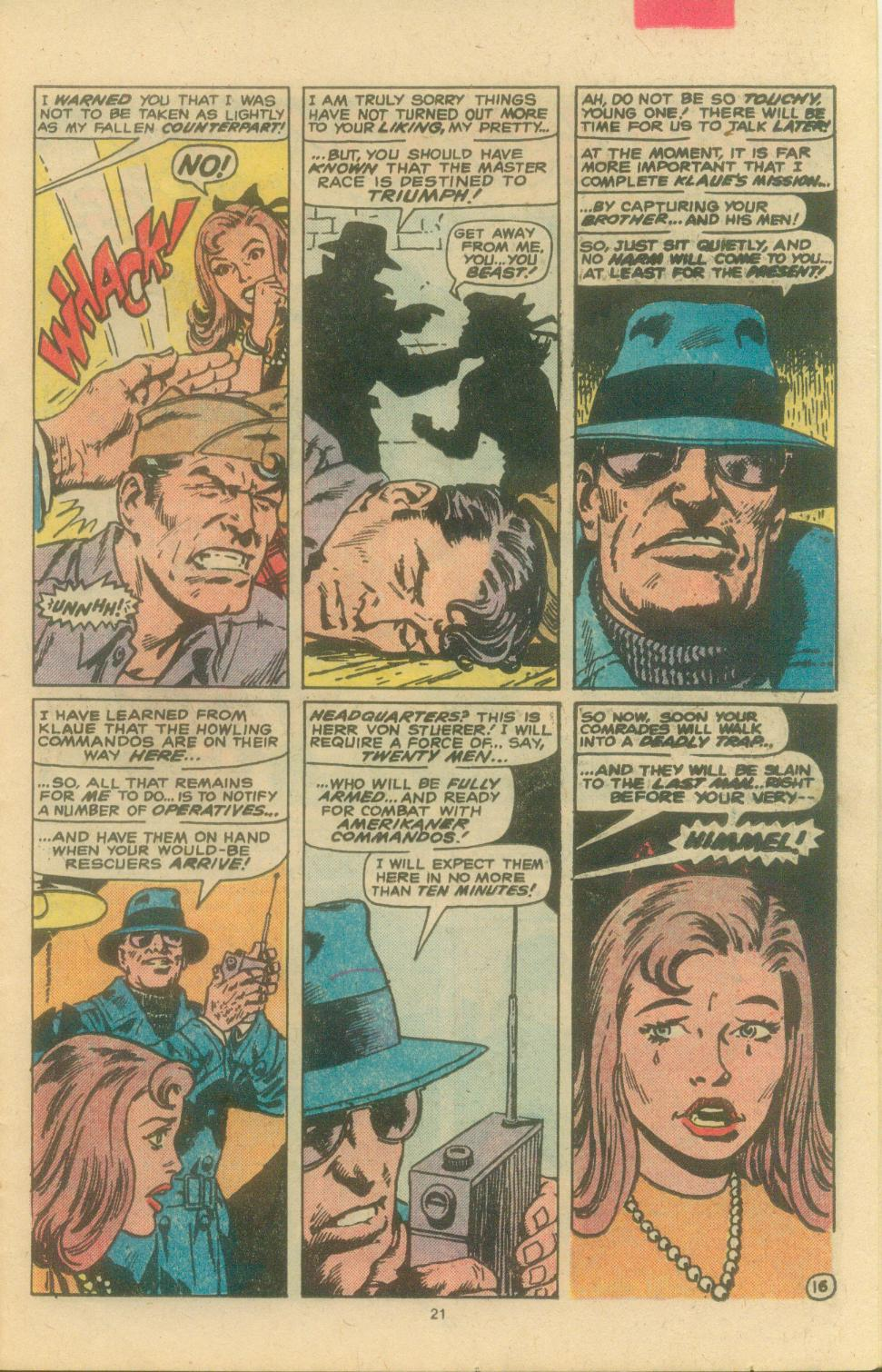 Read online Sgt. Fury comic -  Issue #163 - 23