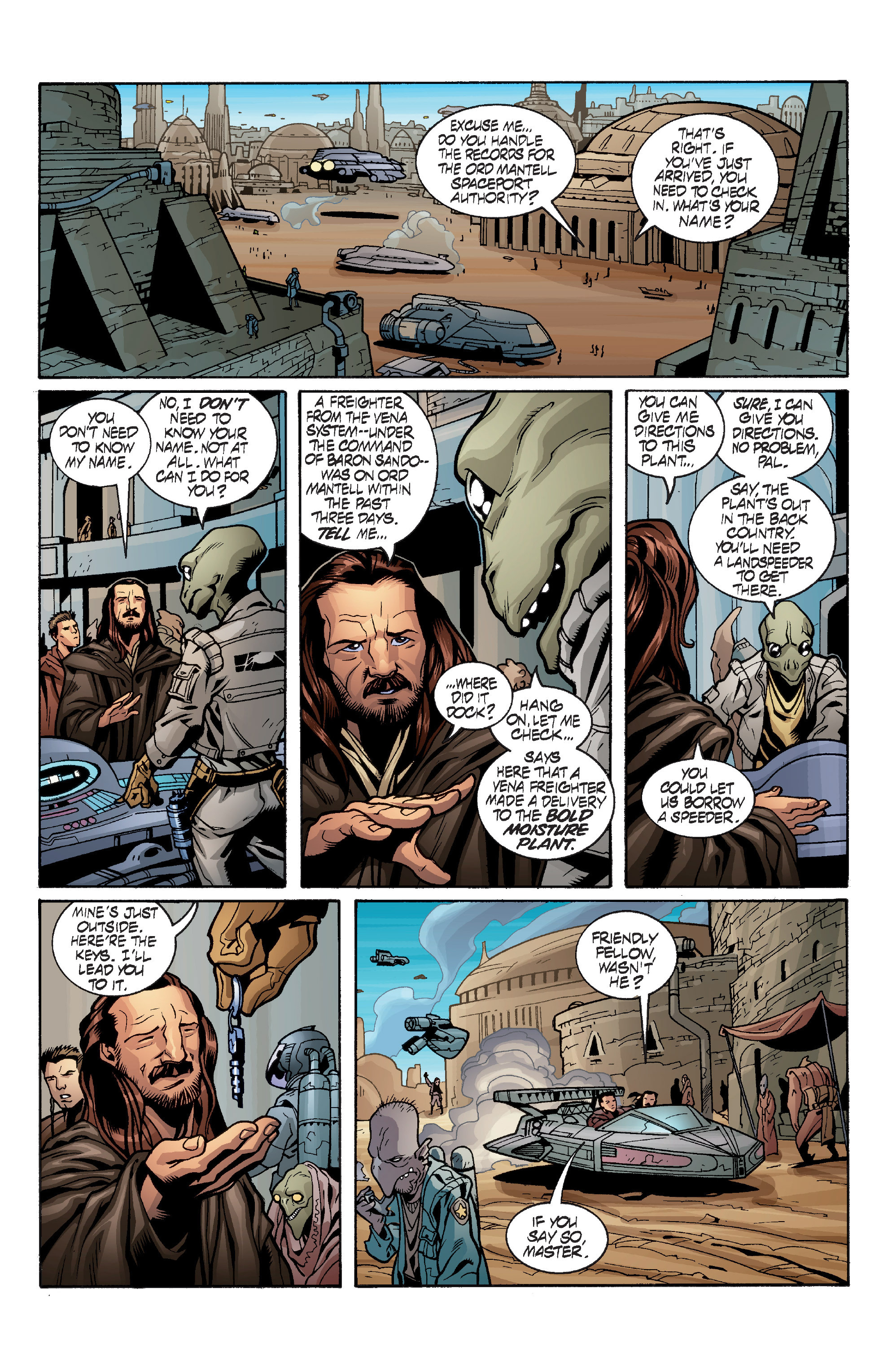 Read online Star Wars: Qui-Gon & Obi-Wan - Last Stand on Ord Mantell comic -  Issue #1 - 22