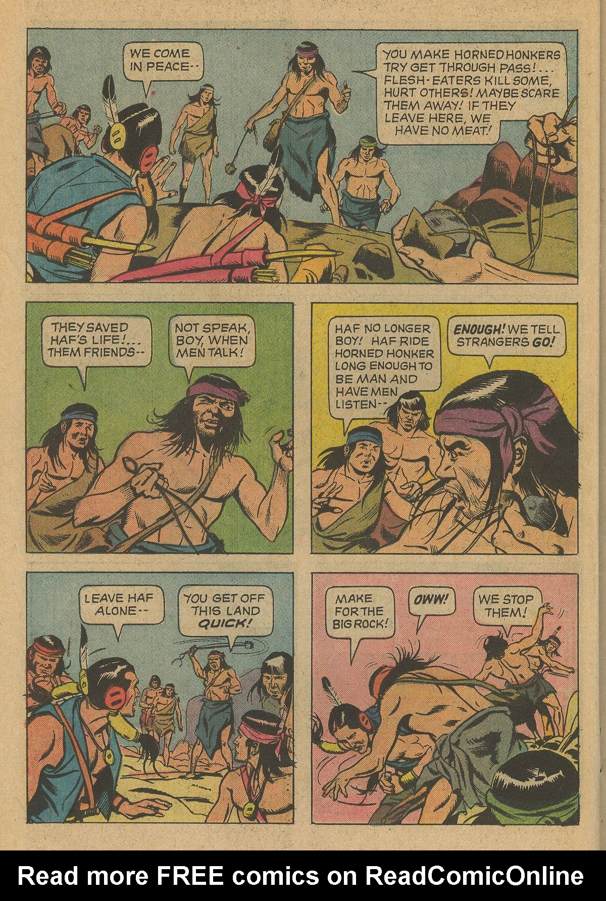 Read online Turok, Son of Stone comic -  Issue #79 - 22