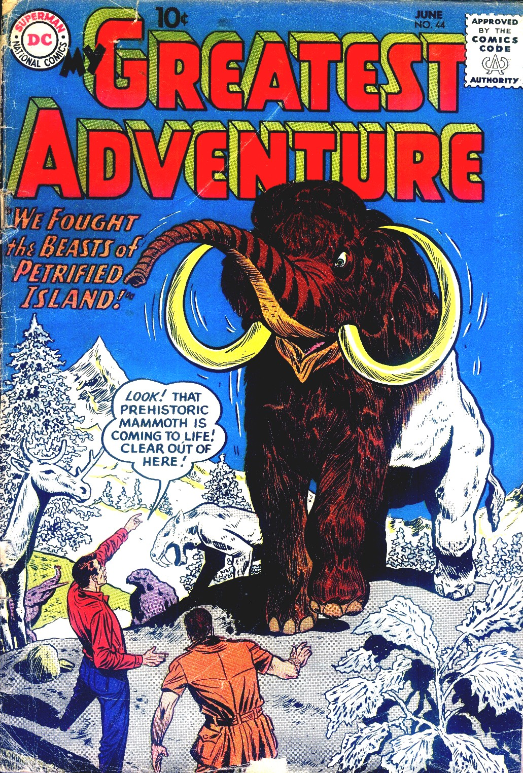 My Greatest Adventure (1955) 44 Page 1