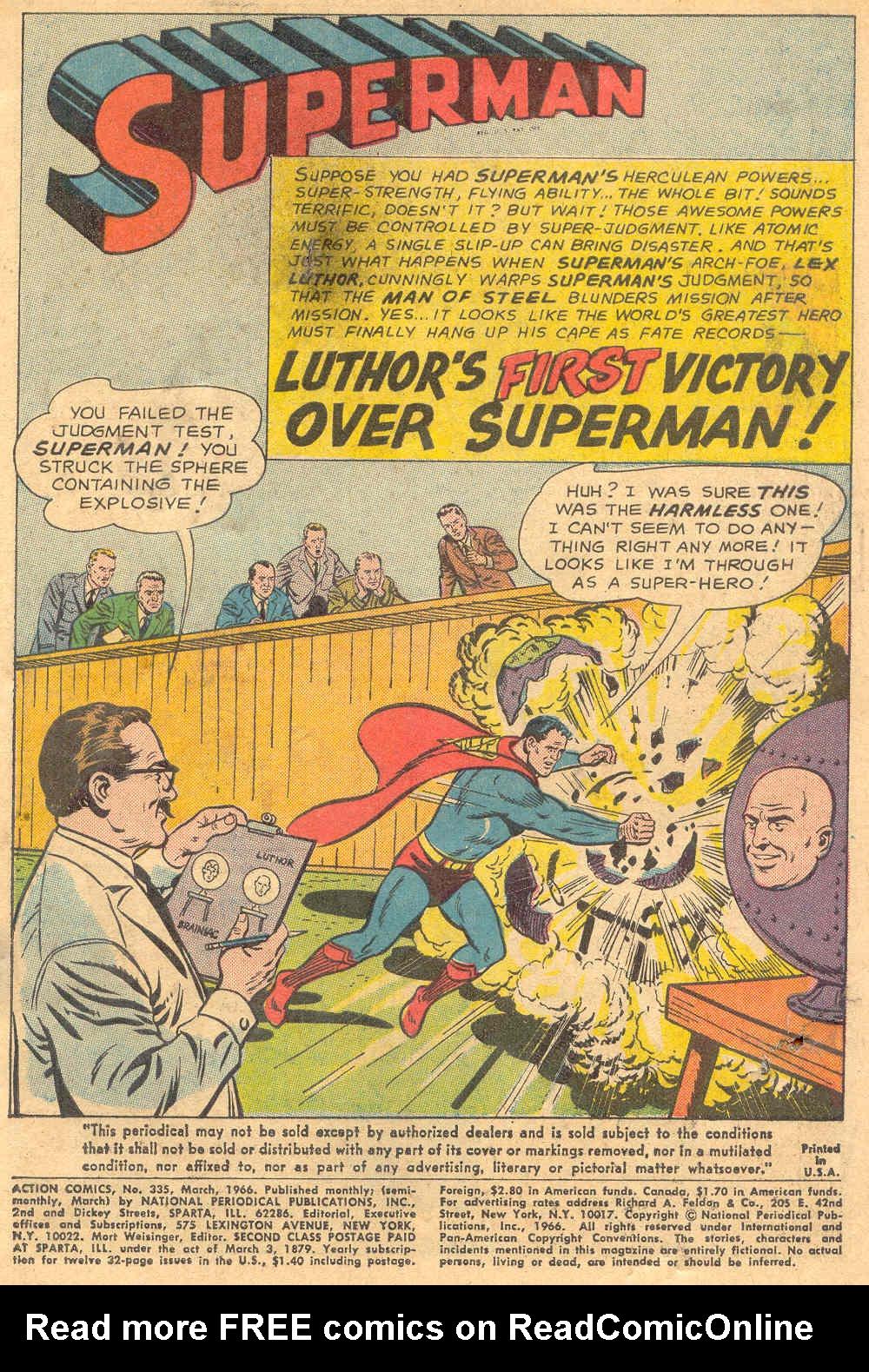 Action Comics (1938) 335 Page 2