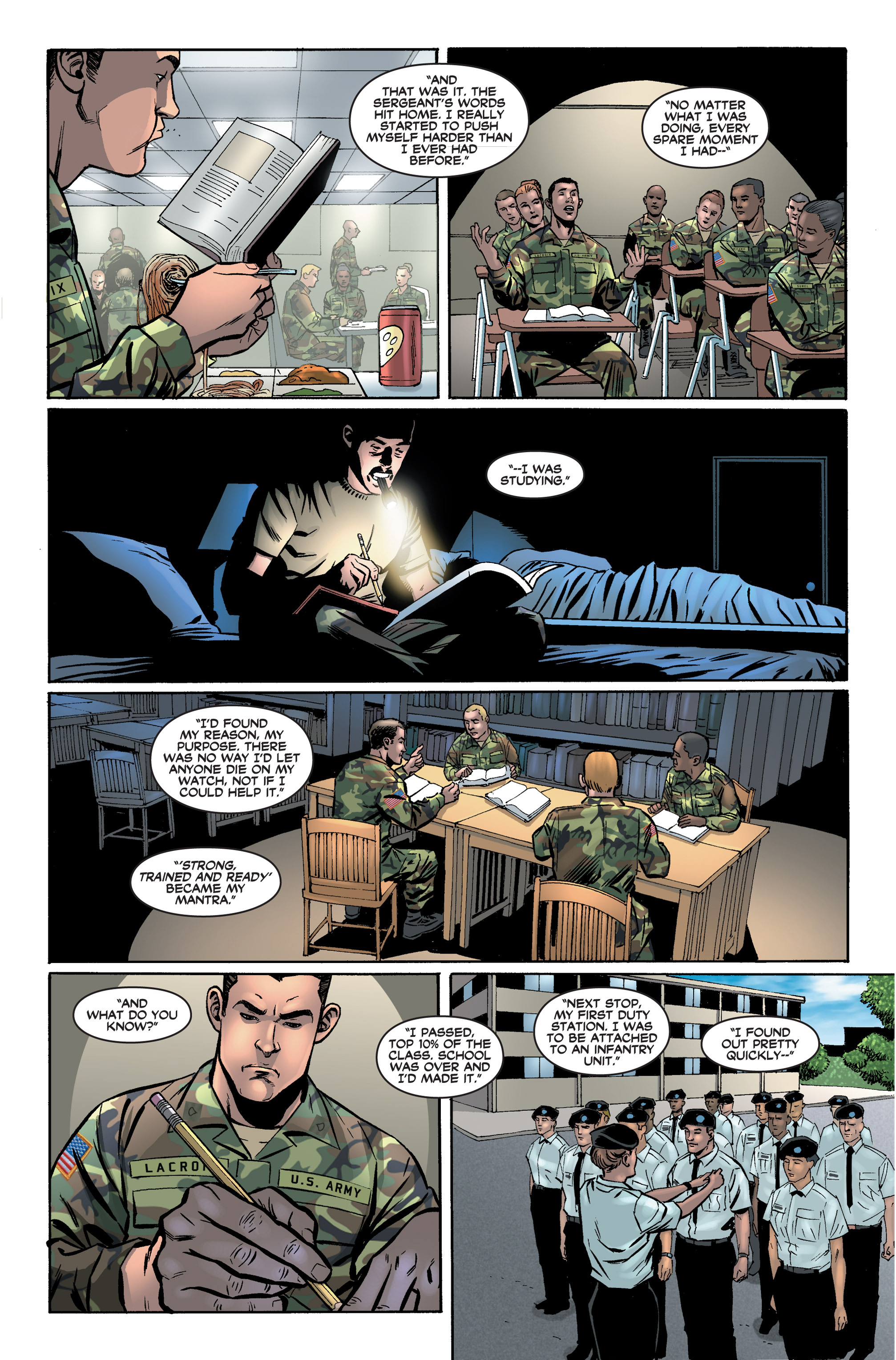 Read online America's Army comic -  Issue #2 - 15