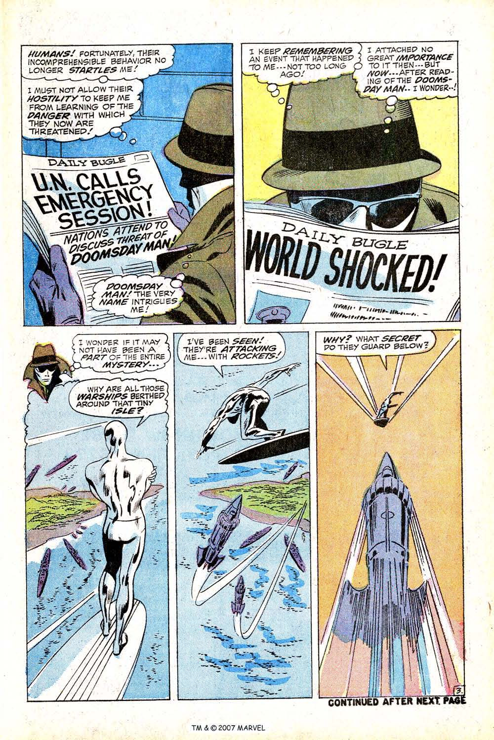 Read online Silver Surfer (1968) comic -  Issue #13 - 5