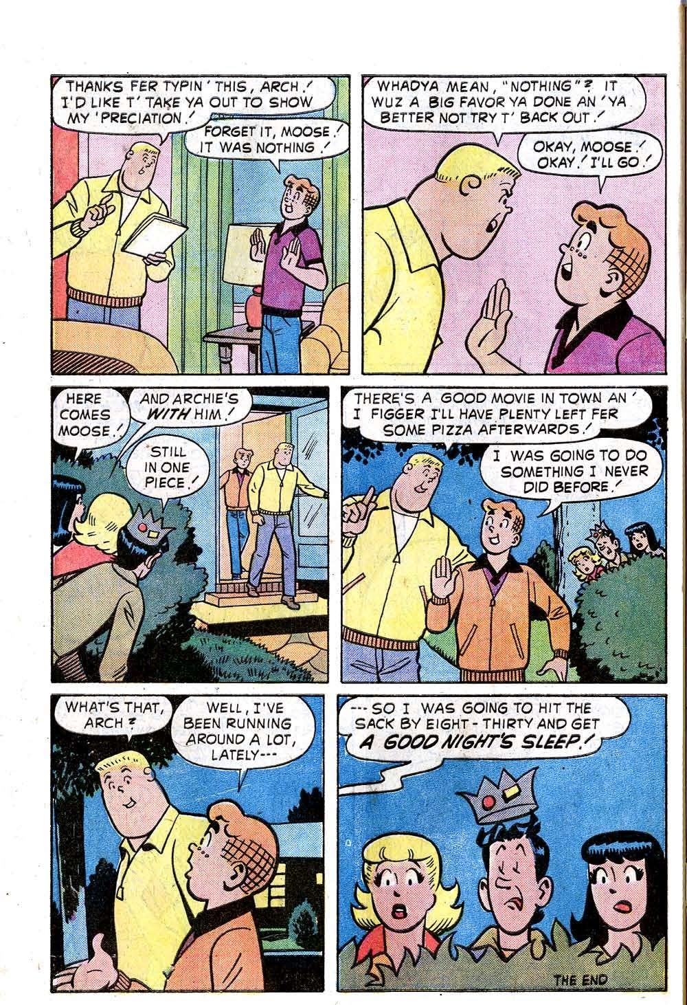 Read online Archie (1960) comic -  Issue #240 - 32