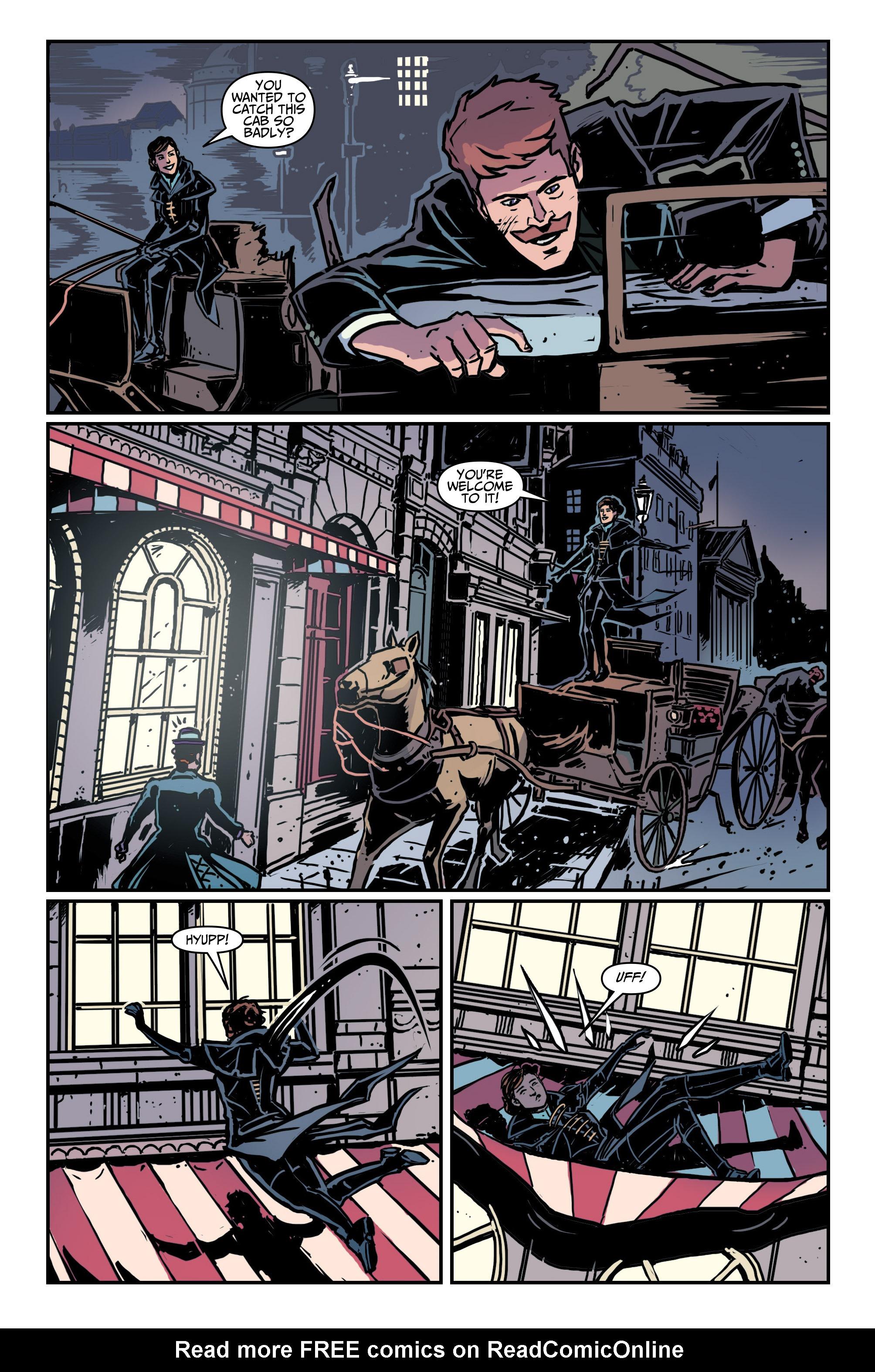 Read online Assassin's Creed: Locus comic -  Issue #4 - 9