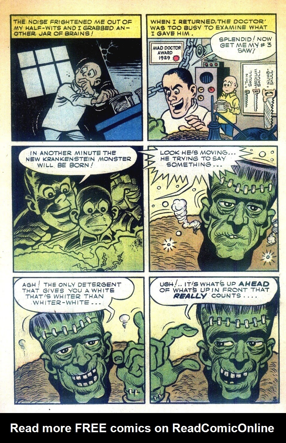 Read online Tales Calculated to Drive You Bats comic -  Issue #3 - 6
