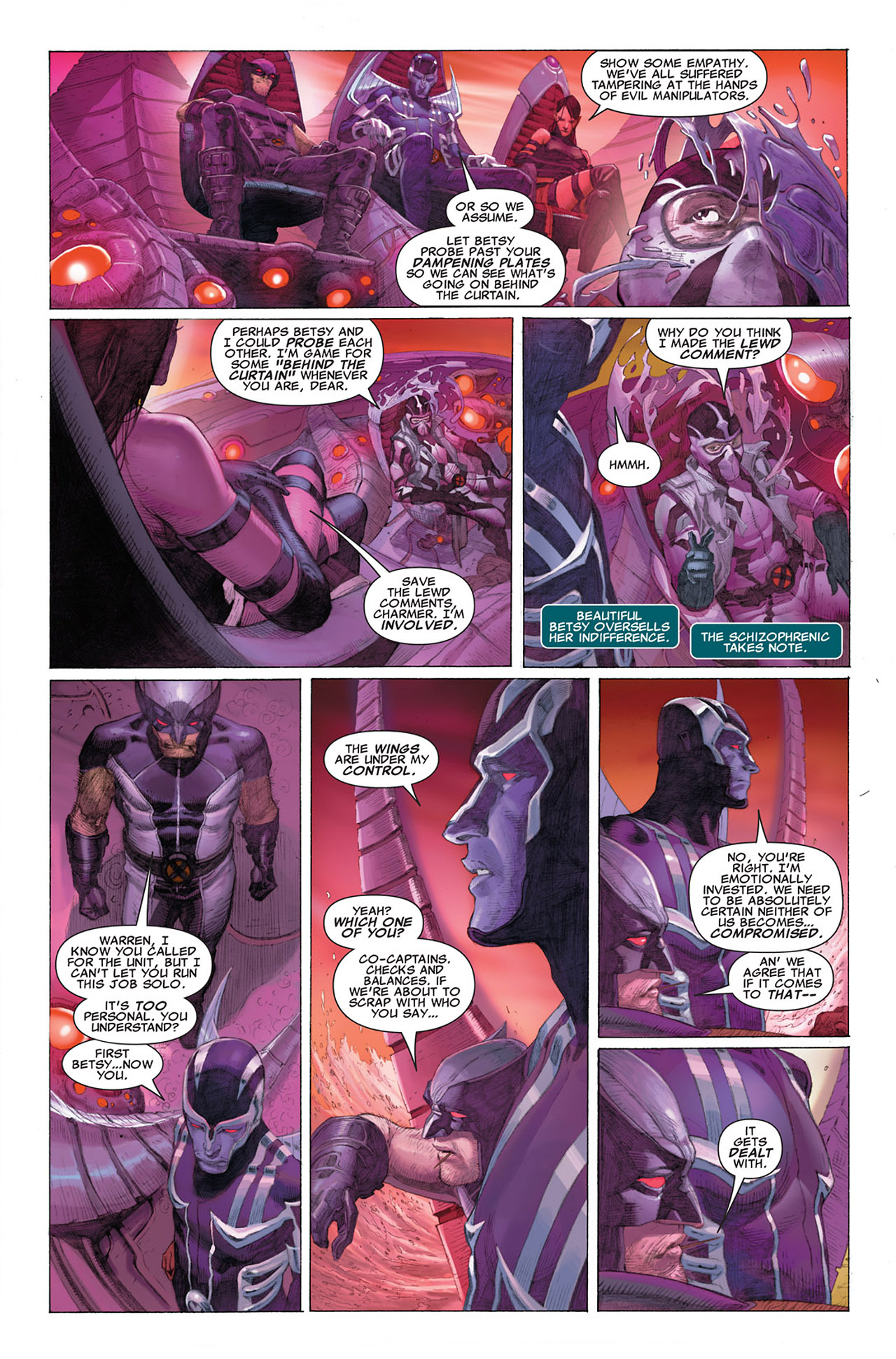 Read online Uncanny X-Force (2010) comic -  Issue #1 - 14
