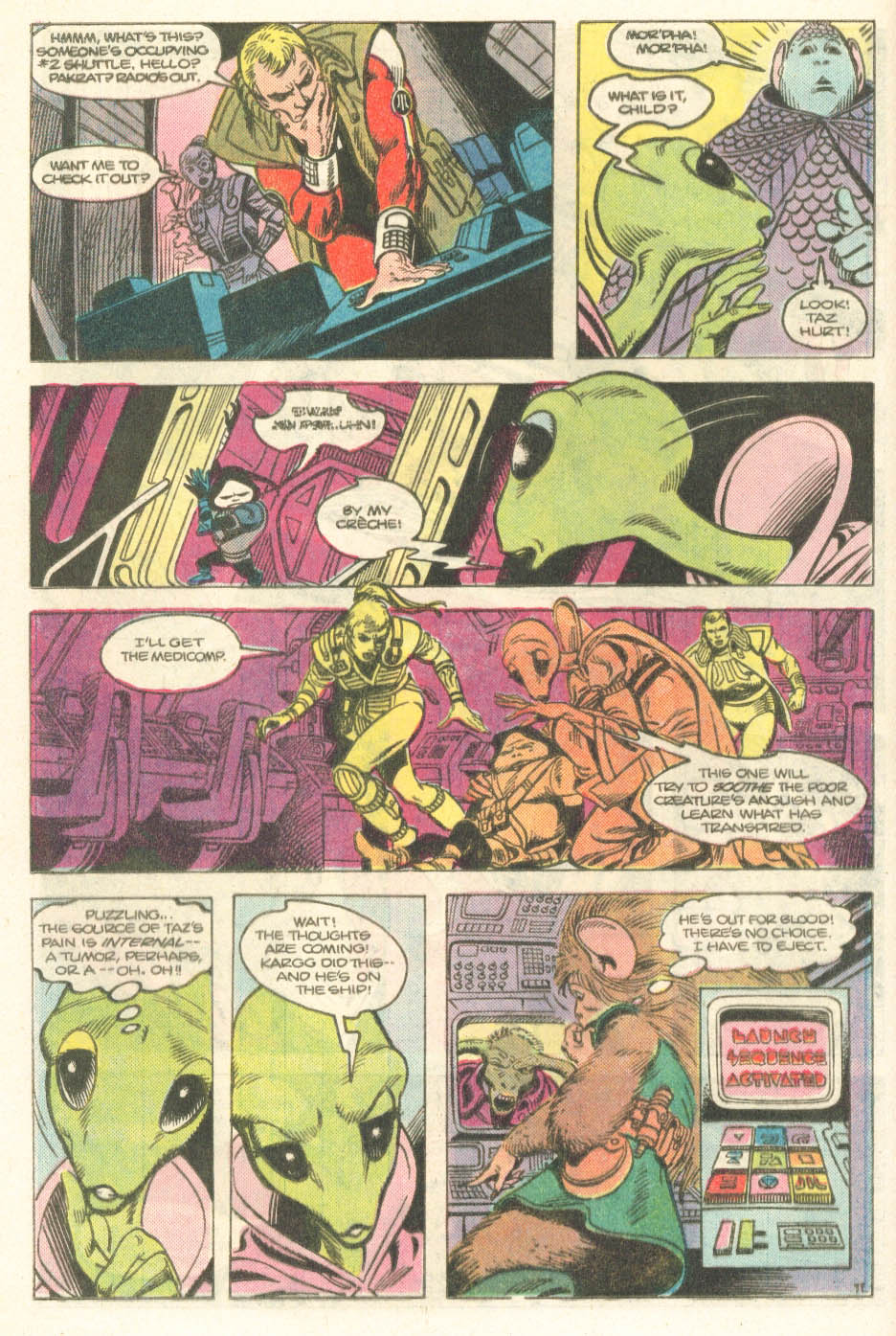 Read online Atari Force (1984) comic -  Issue #14 - 13