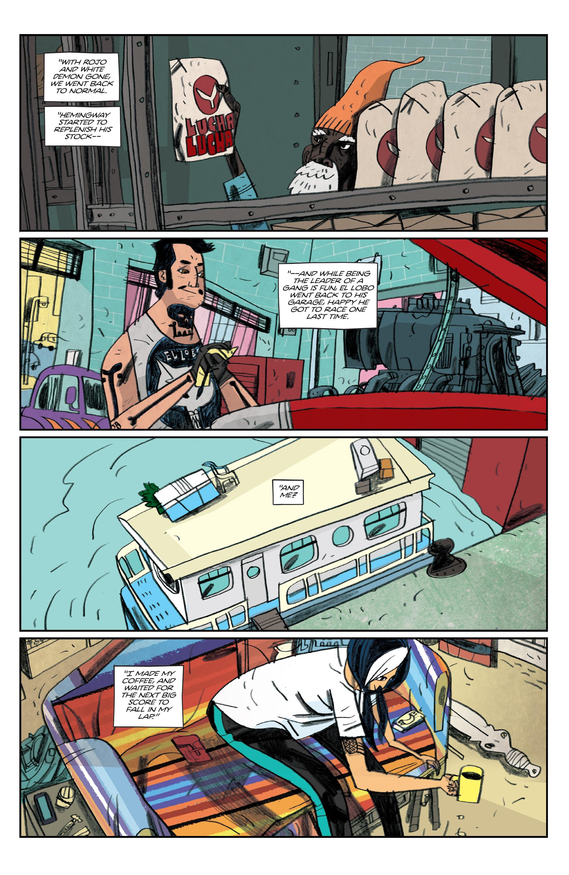 Read online Helena Crash comic -  Issue #4 - 23