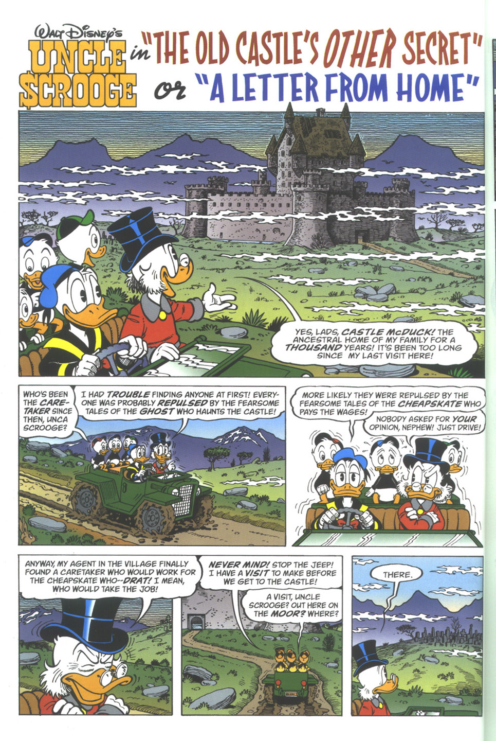 Read online Uncle Scrooge (1953) comic -  Issue #342 - 6