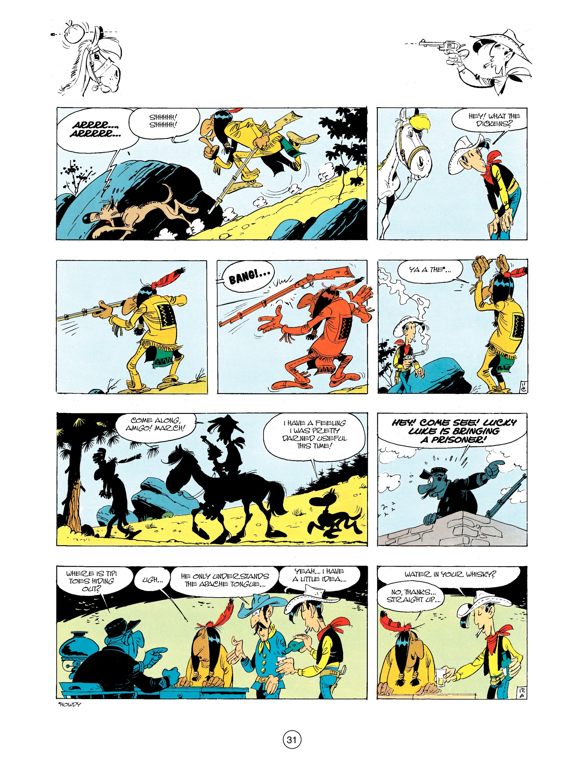 Read online A Lucky Luke Adventure comic -  Issue #34 - 31