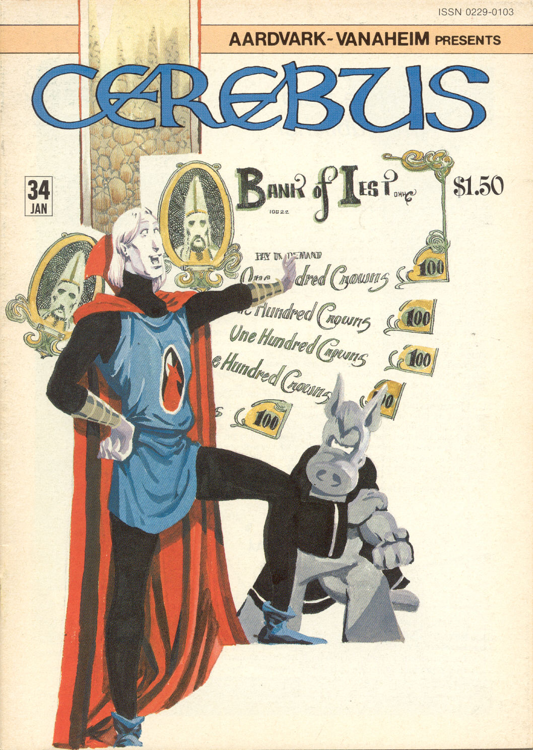 Cerebus Issue #34 #34 - English 2