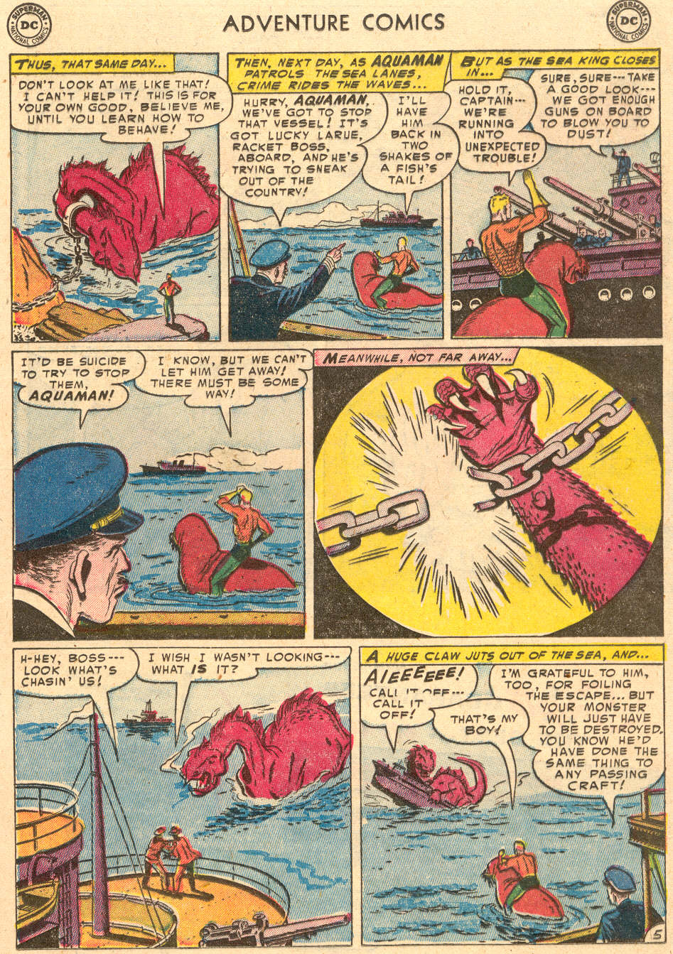 Read online Adventure Comics (1938) comic -  Issue #193 - 21