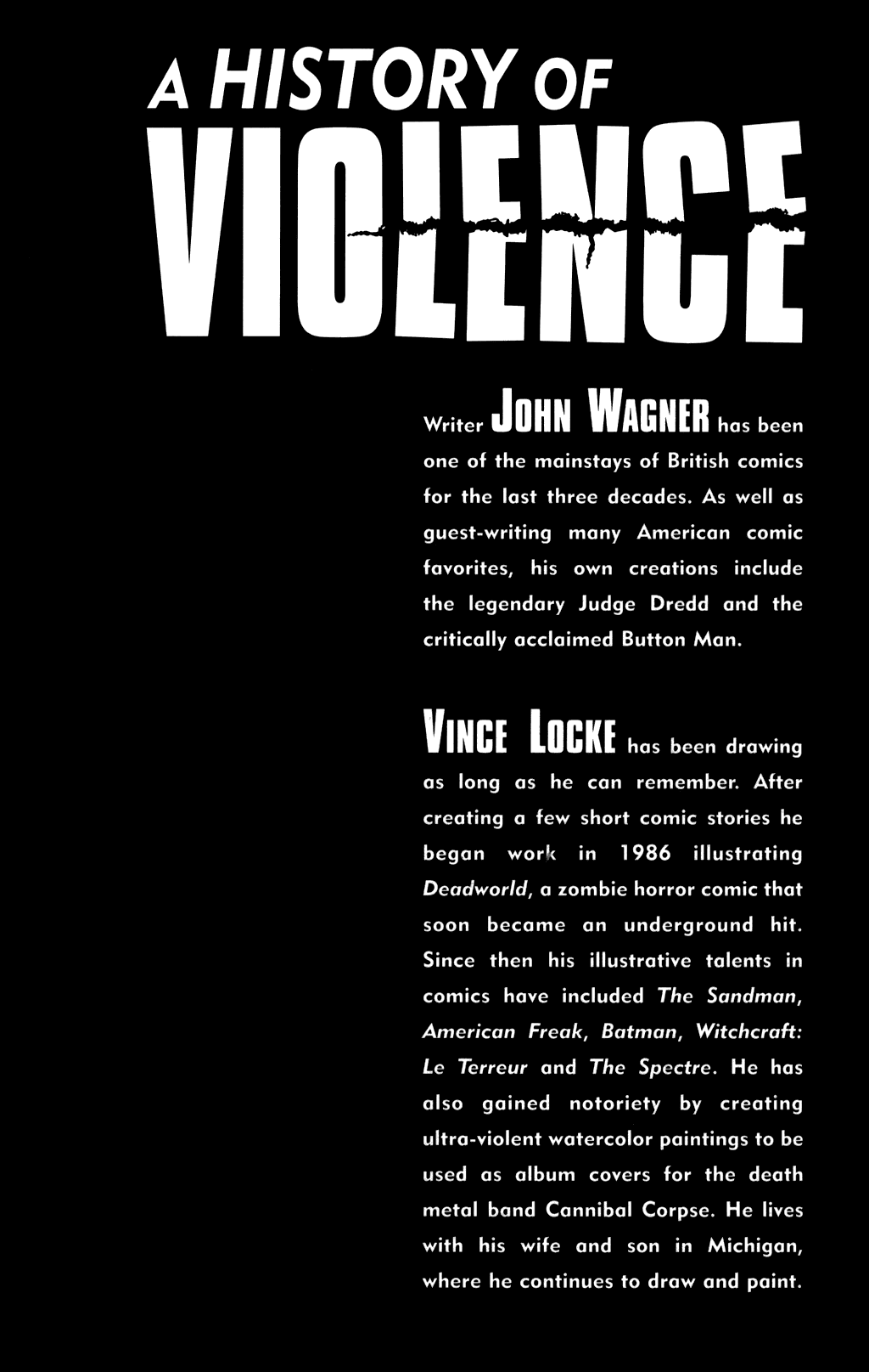 Read online A History of Violence comic -  Issue #A History of Violence Full - 300