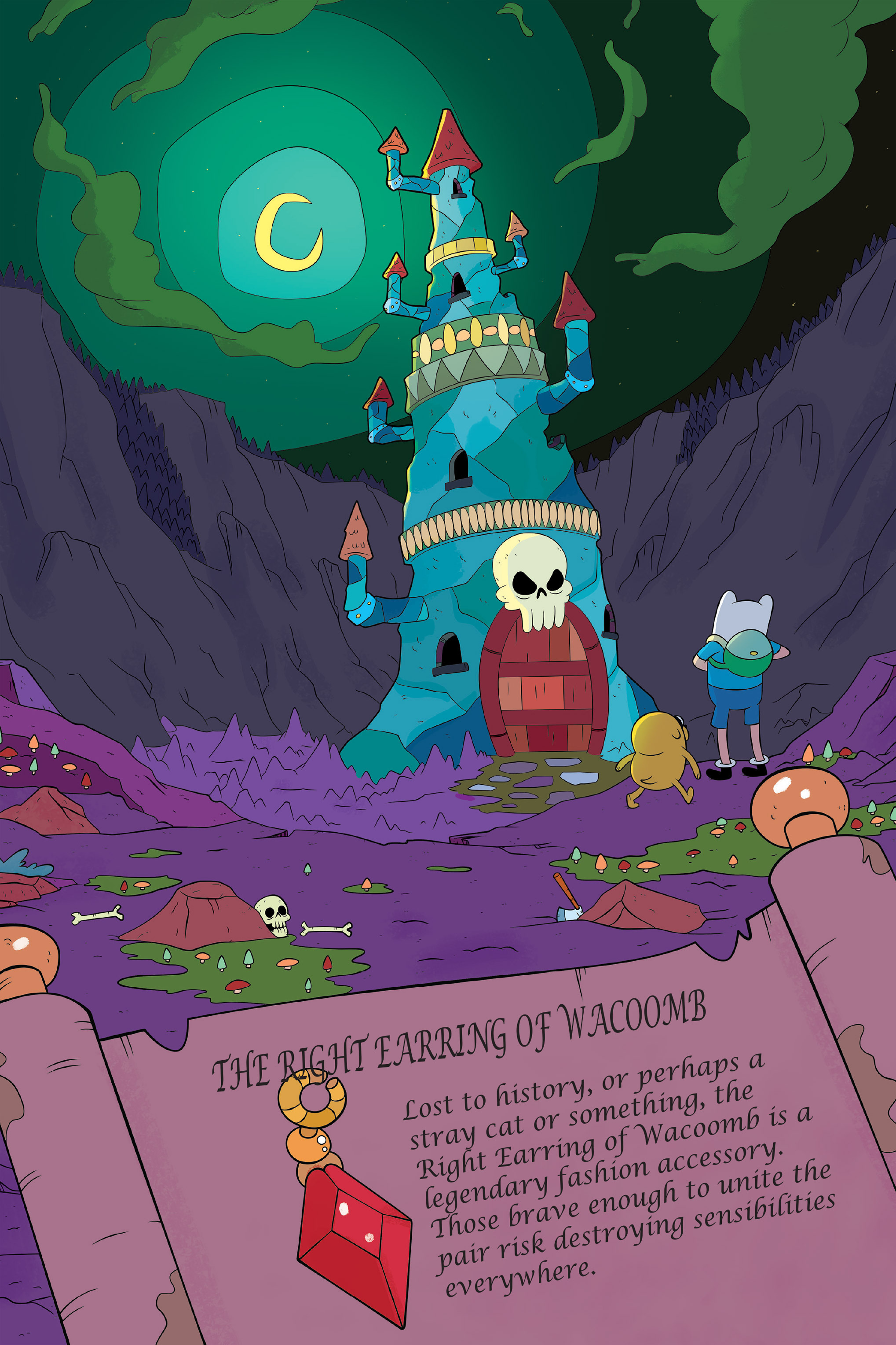 Read online Adventure Time: The Four Castles comic -  Issue #Adventure Time: The Four Castles TPB - 62