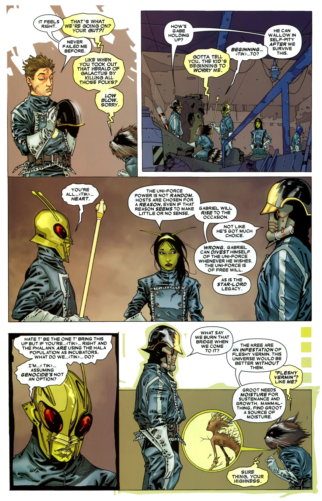 Read online Annihilation: Conquest - Starlord comic -  Issue #3 - 9