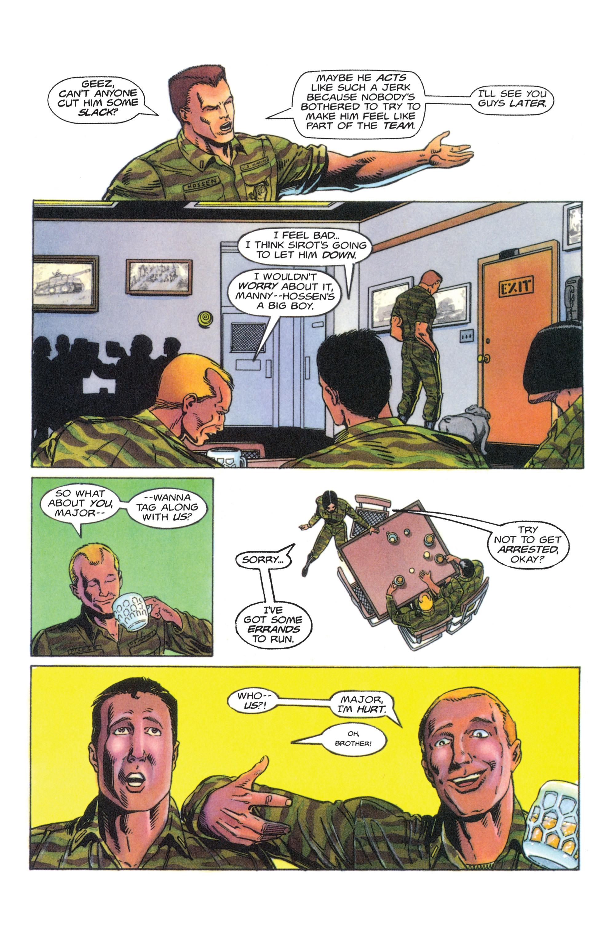 Read online Armorines comic -  Issue #4 - 11