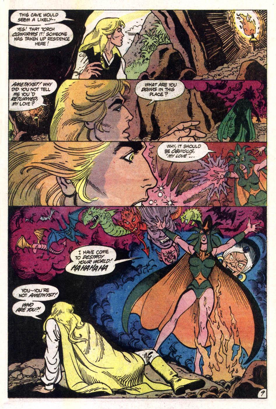 Read online Amethyst (1985) comic -  Issue #1 - 10