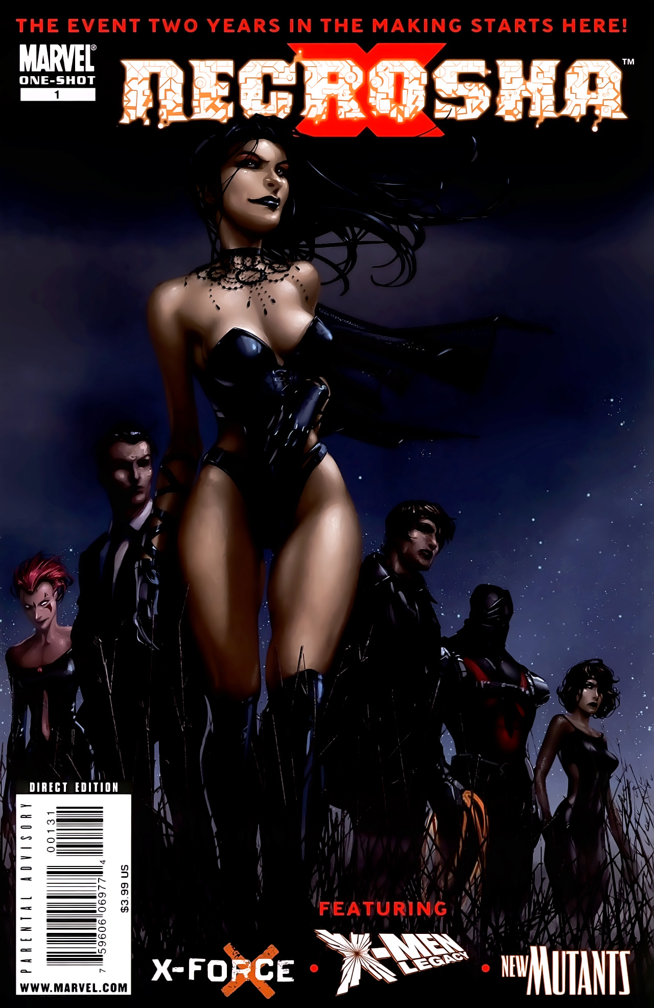 Read online X Necrosha comic -  Issue # Full - 2