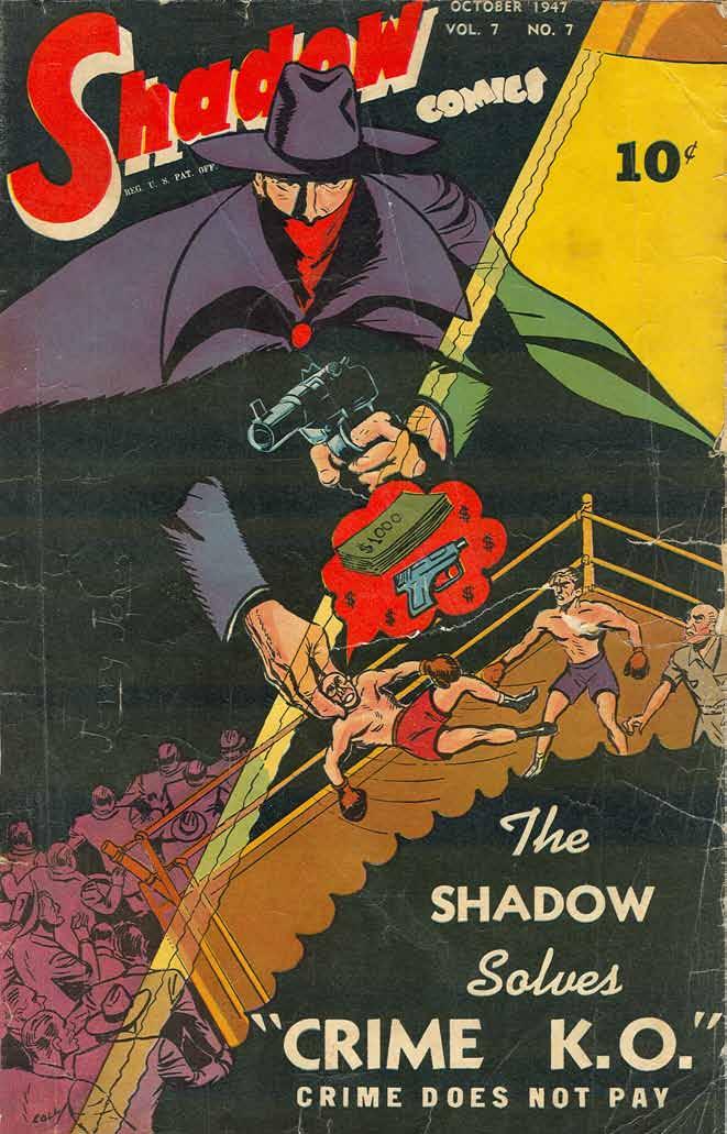 Read online Shadow Comics comic -  Issue #79 - 1