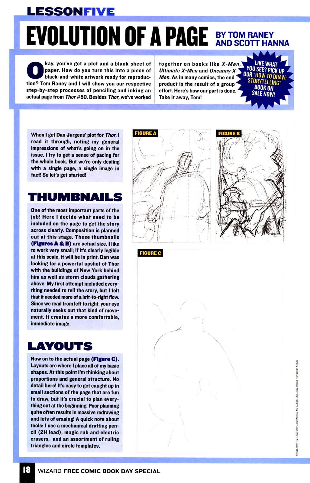 Read online Wizard How to Draw Sampler comic -  Issue # Full - 19