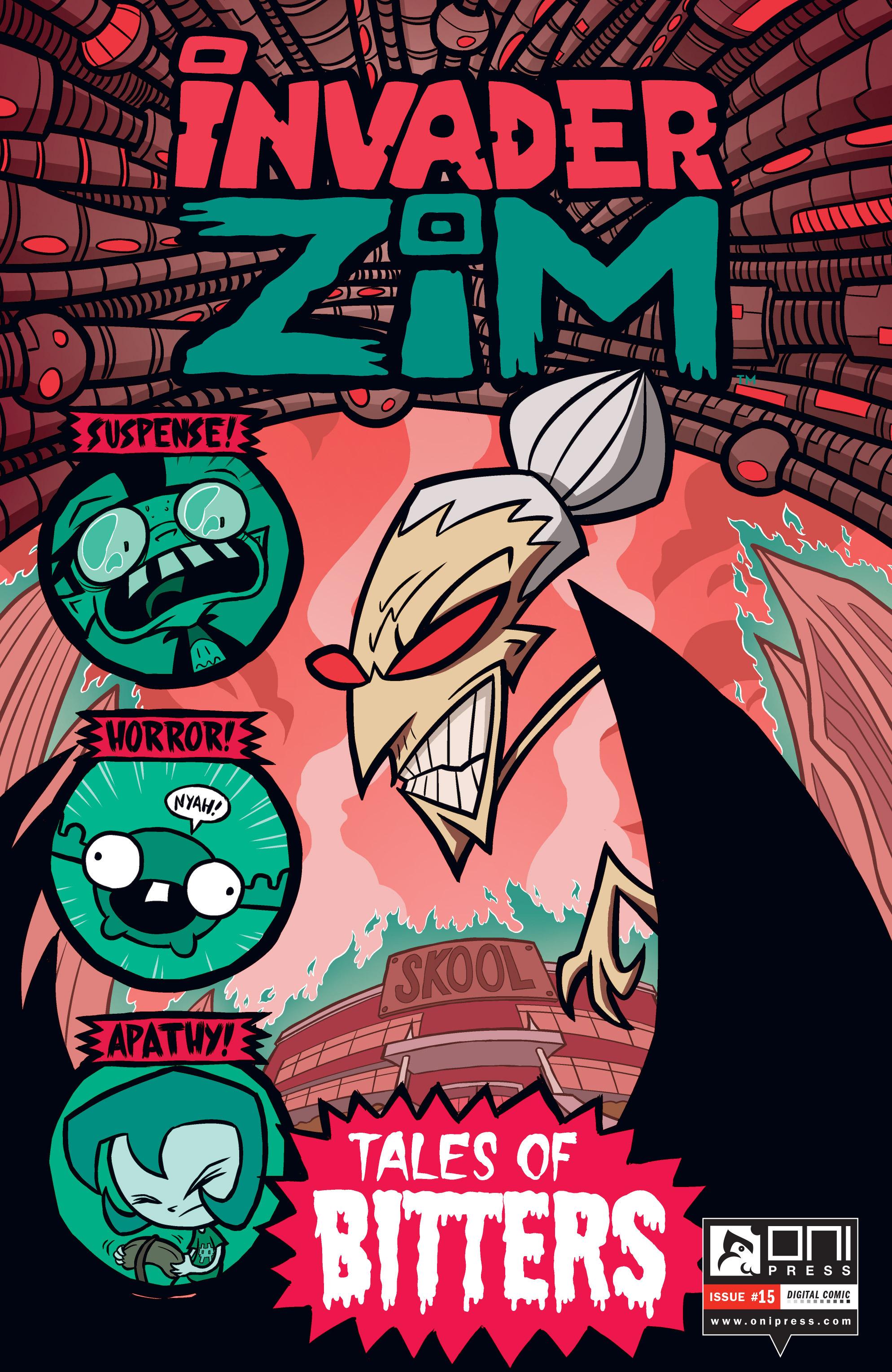 Invader Zim 15 Page 1