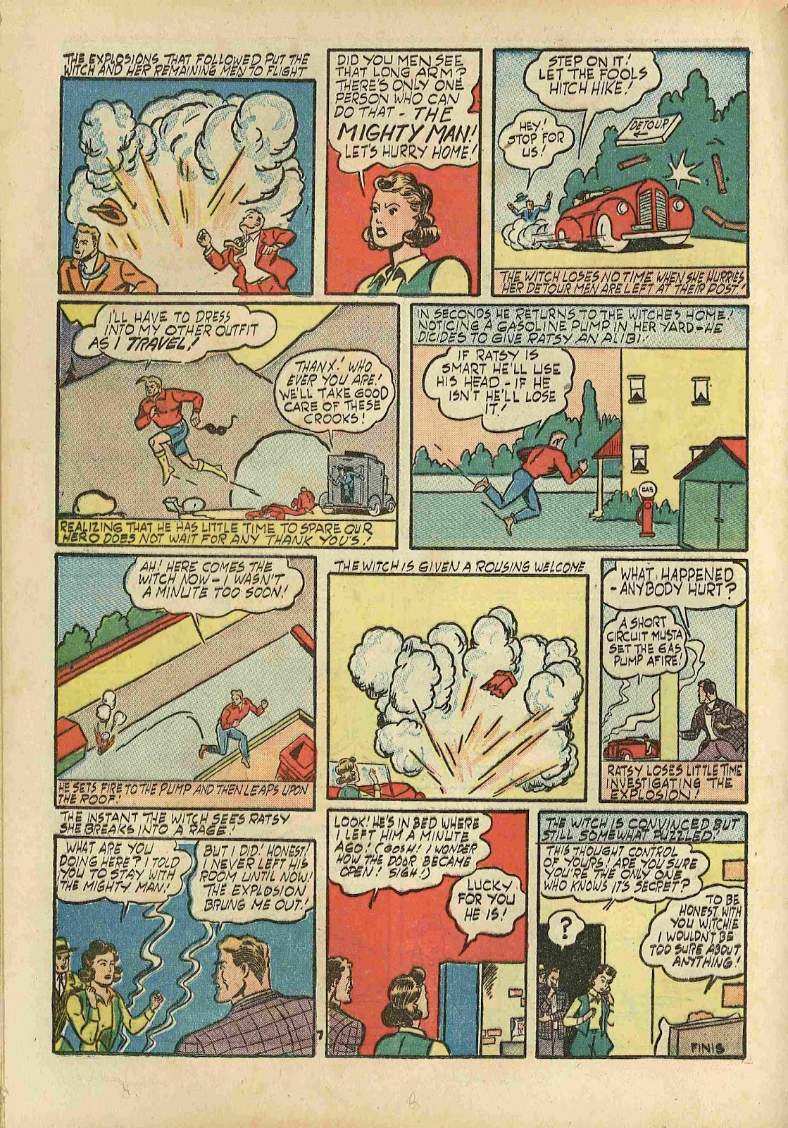 Stars and Stripes Comics issue 2 - Page 36