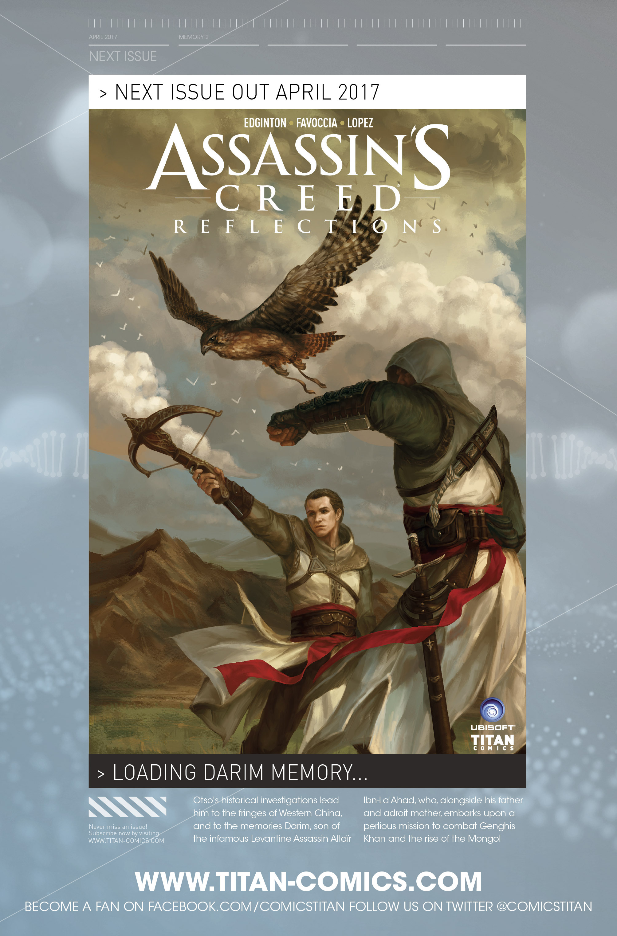 Read online Assassin's Creed: Reflections comic -  Issue #1 - 27