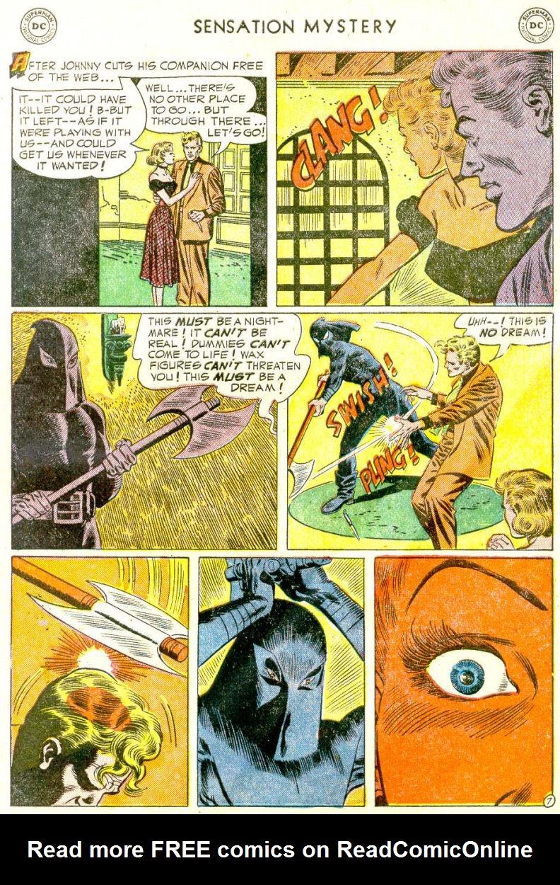 Read online Sensation (Mystery) Comics comic -  Issue #112 - 9