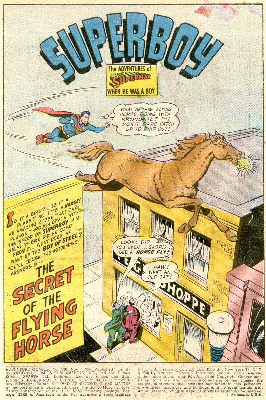 Read online Adventure Comics (1938) comic -  Issue #230 - 3