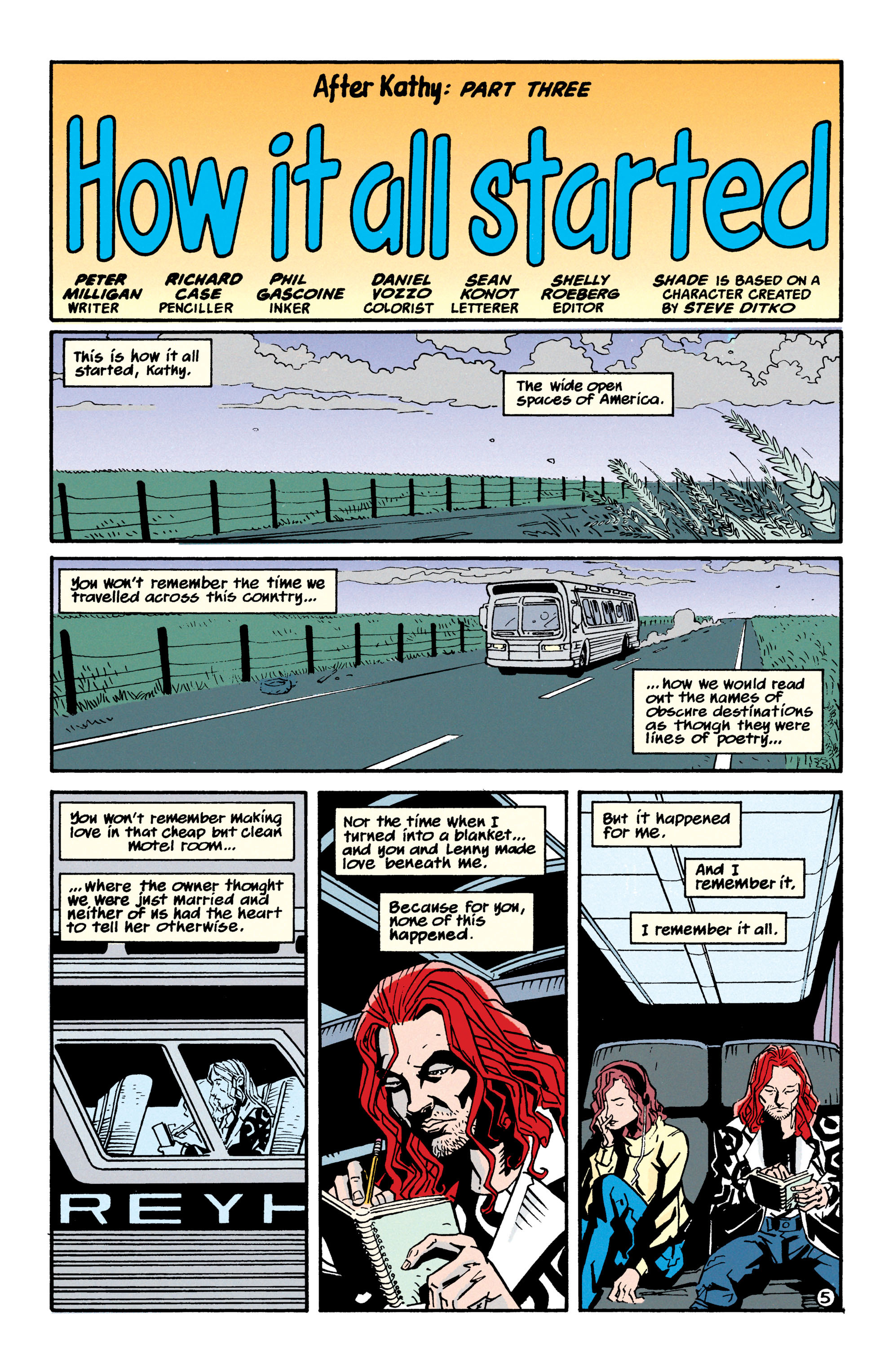 Read online Shade, the Changing Man comic -  Issue #70 - 6