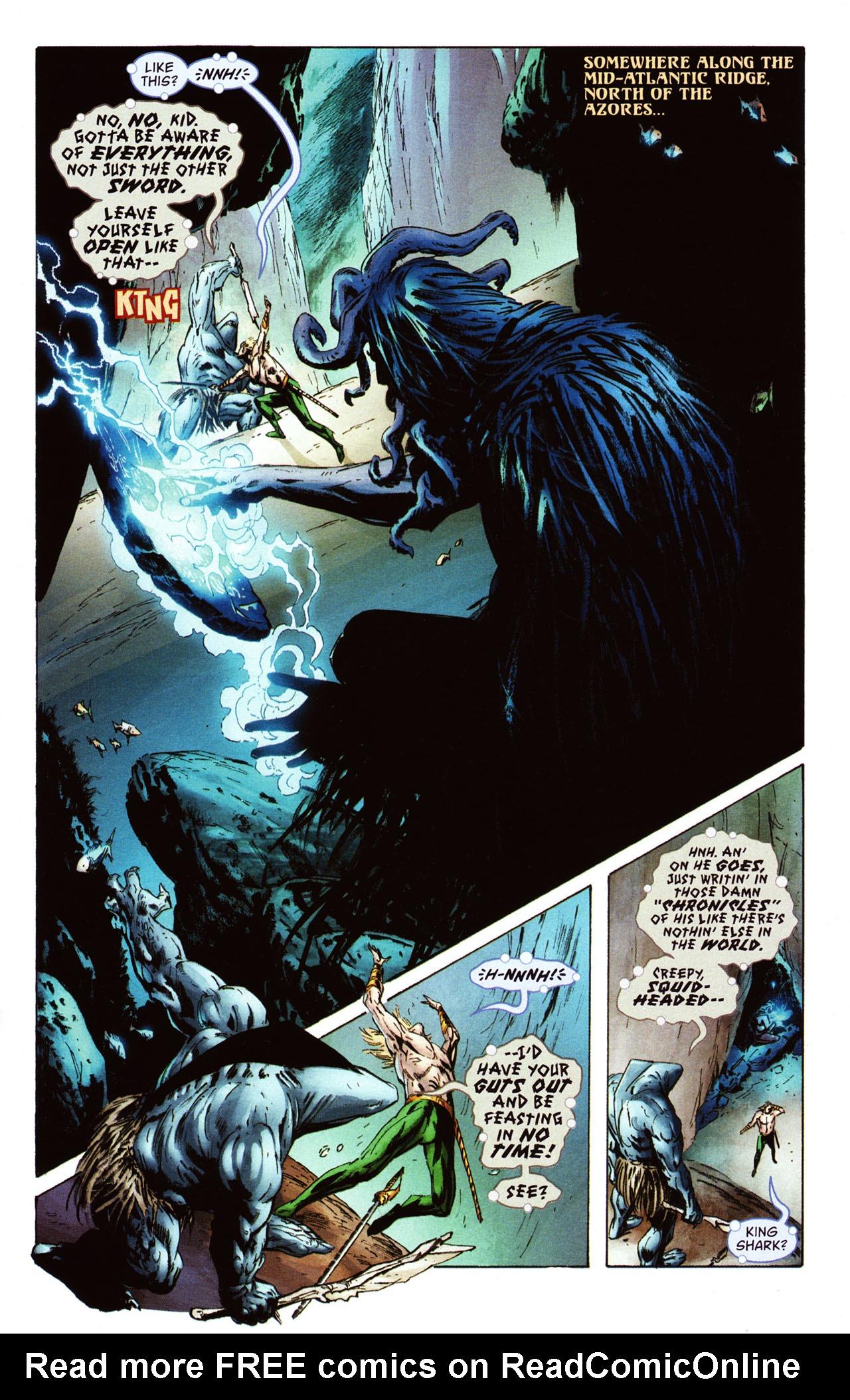 Read online Aquaman: Sword of Atlantis comic -  Issue #46 - 3