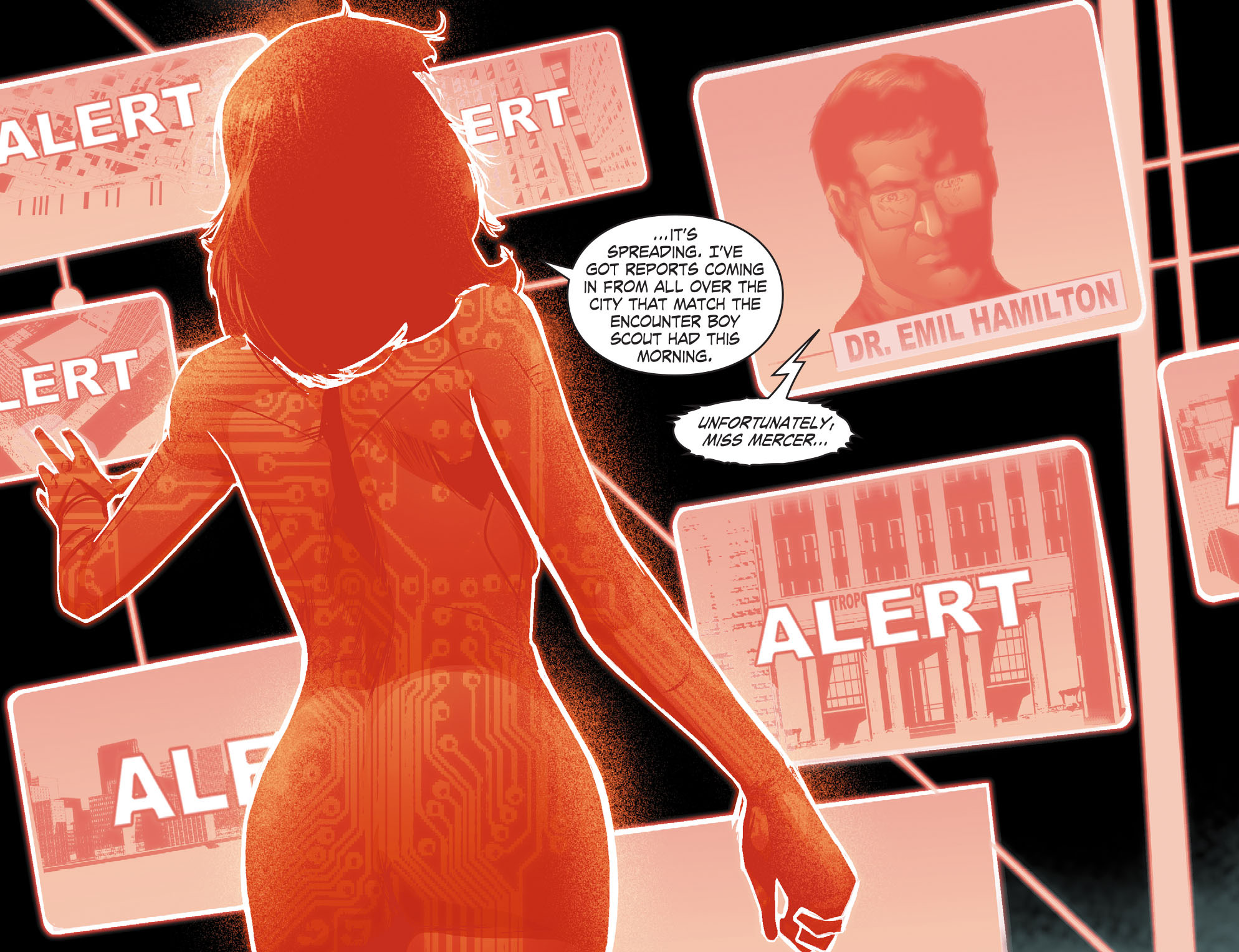 Read online Smallville: Chaos [II] comic -  Issue #4 - 4