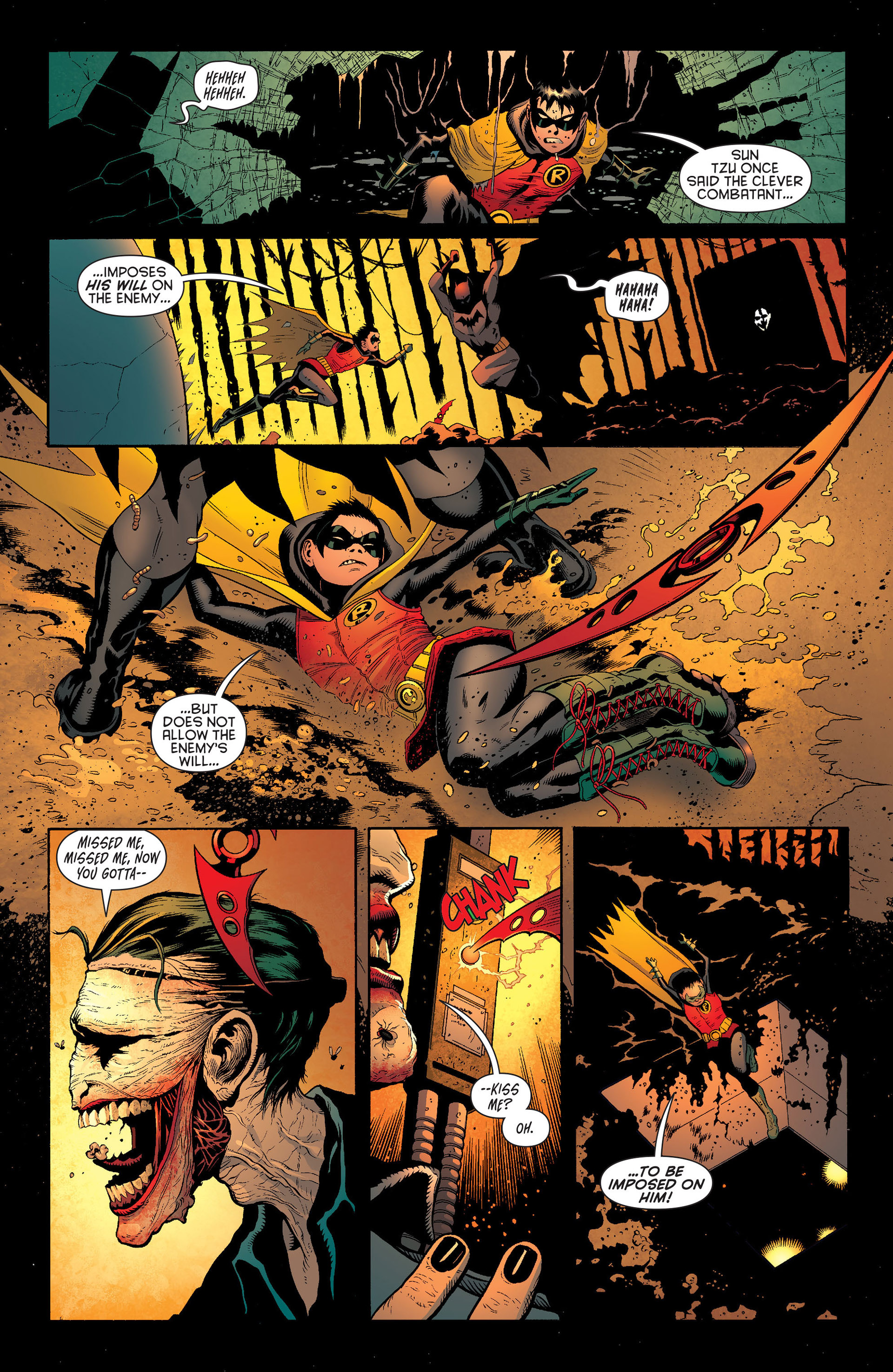 Read online Batman and Robin (2011) comic -  Issue #16 - 8