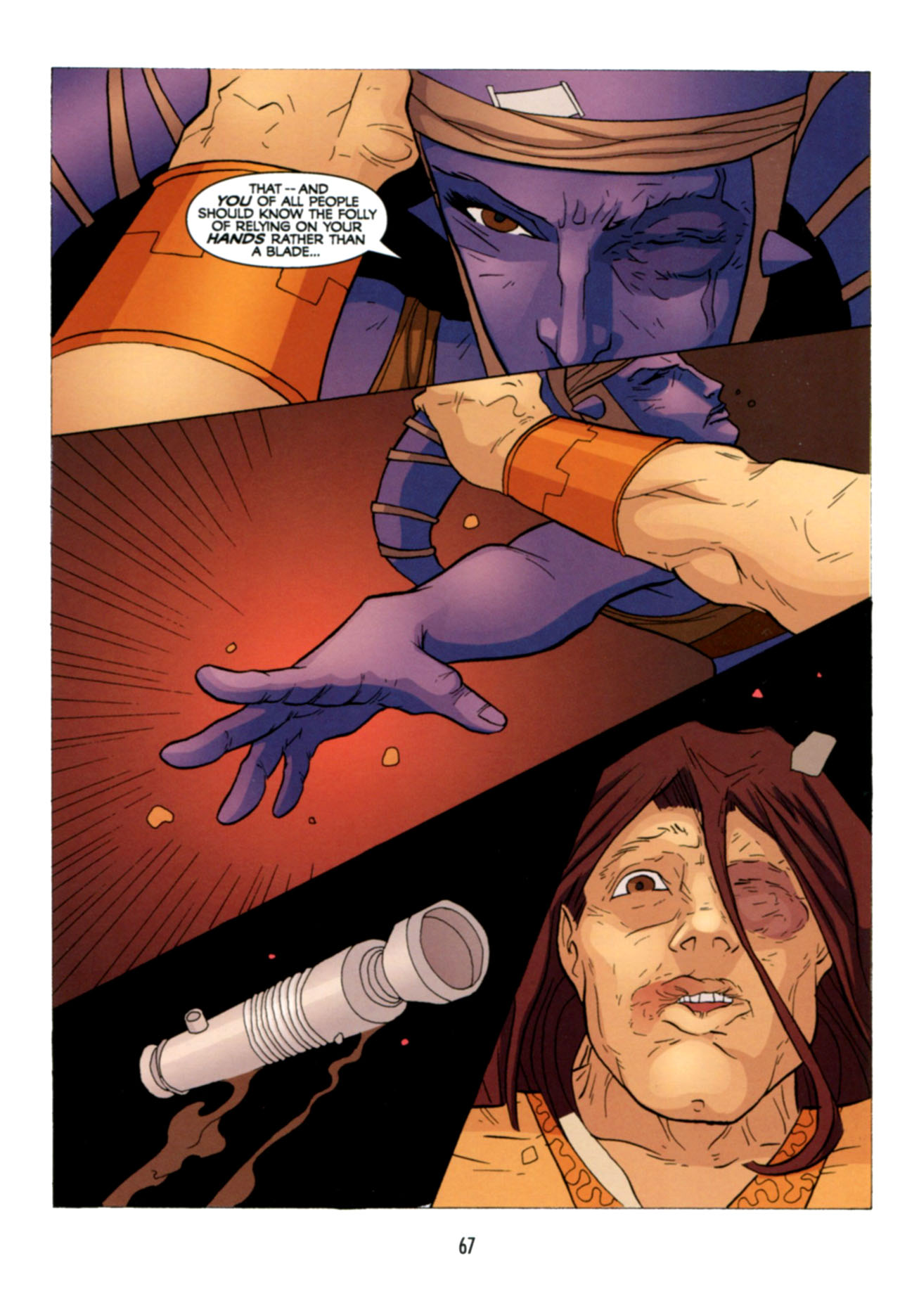 Read online Star Wars: The Clone Wars - Deadly Hands of Shon-Ju comic -  Issue # Full - 68