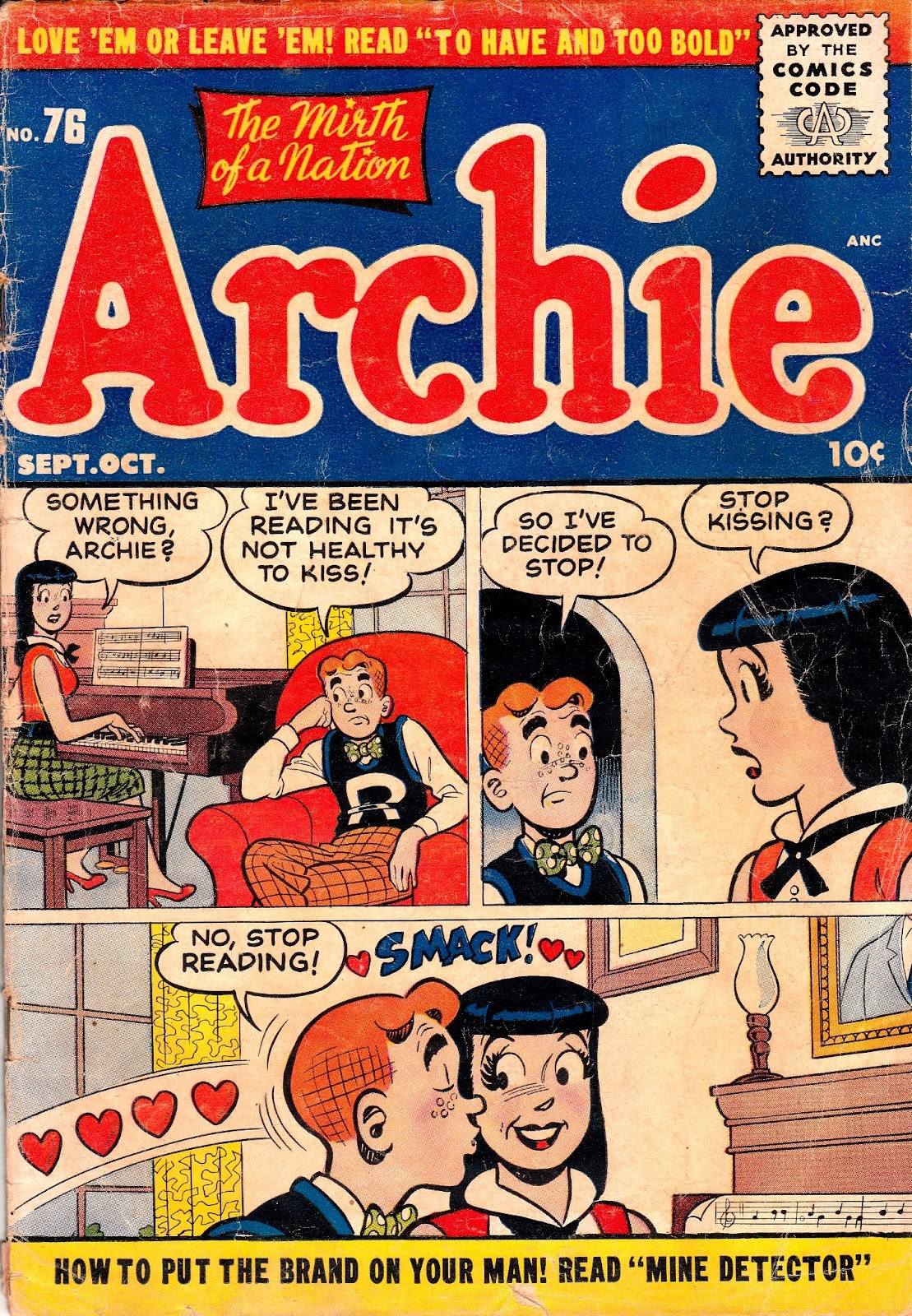 Archie Comics issue 076 - Page 1