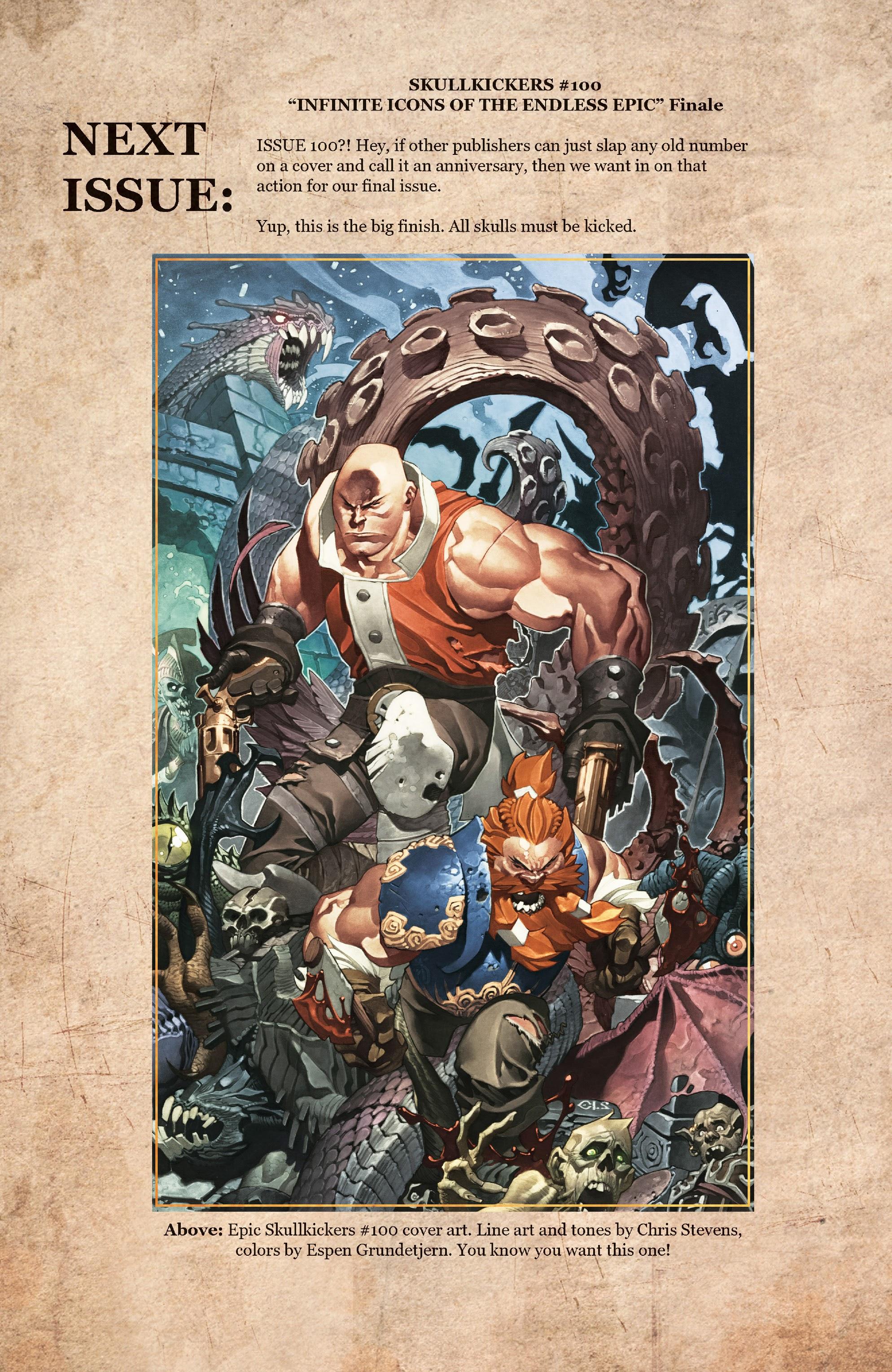 Read online Skullkickers comic -  Issue #33 - 23