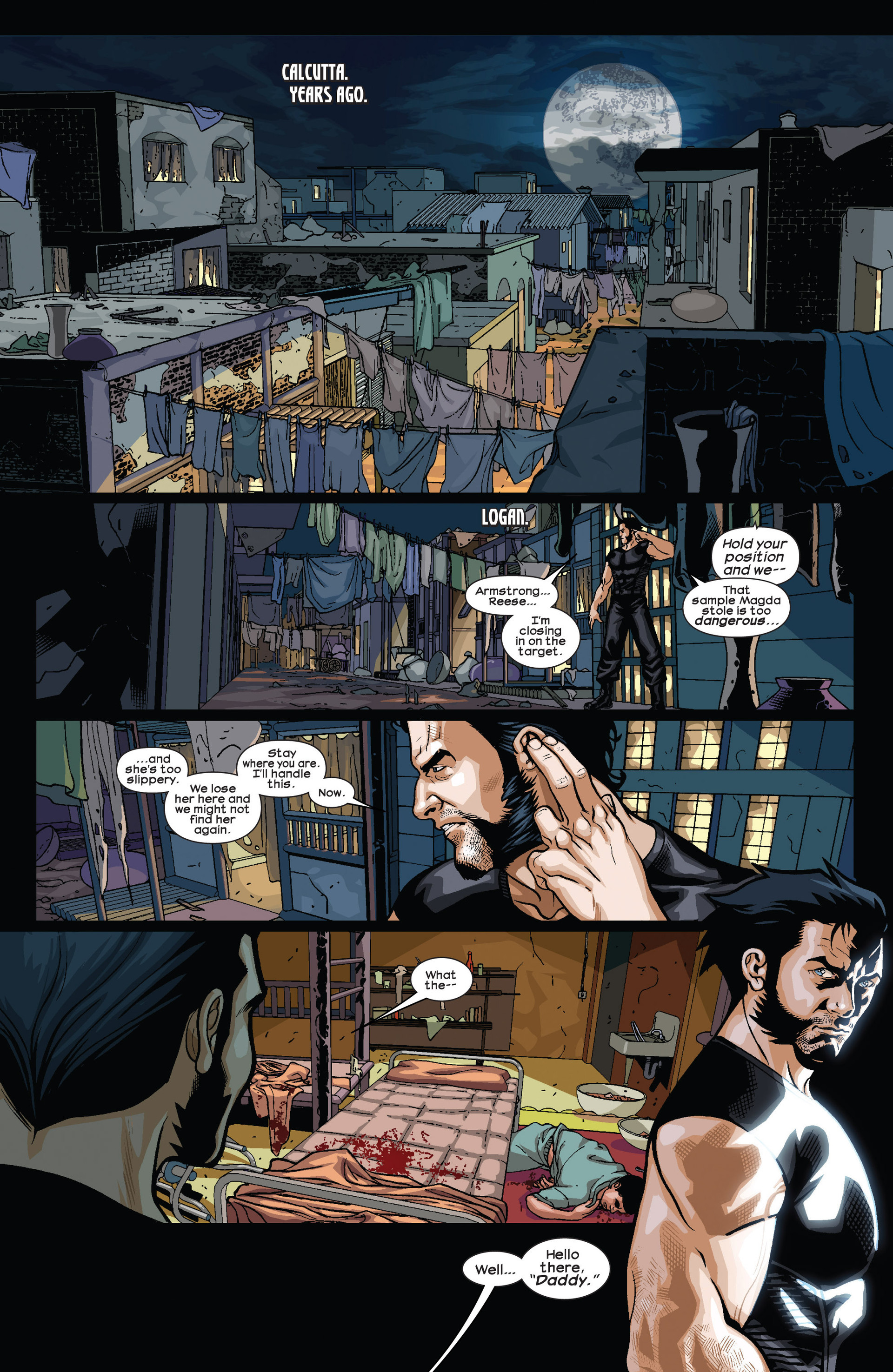 Read online Ultimate Comics Wolverine comic -  Issue #4 - 3