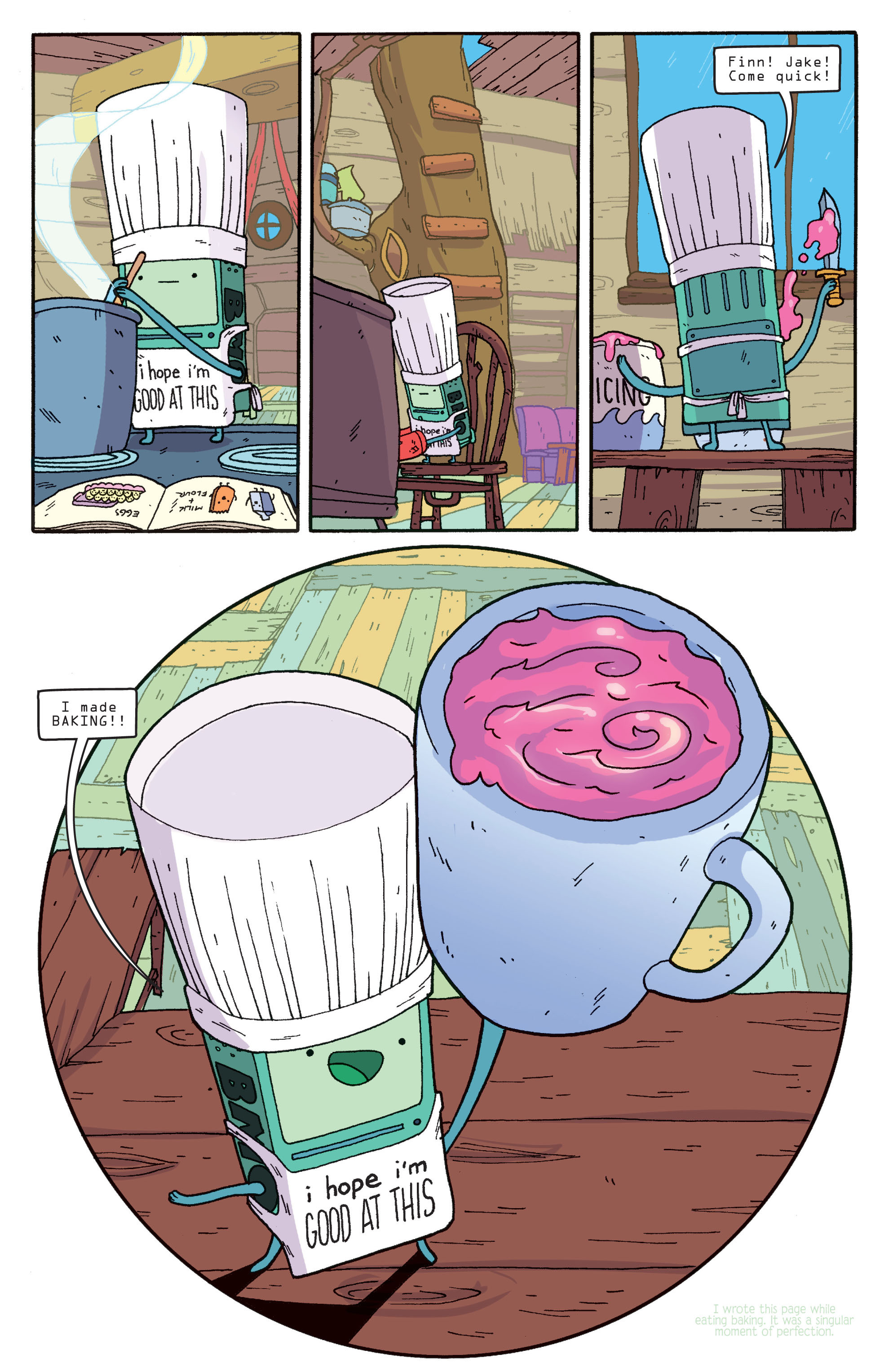 Read online Adventure Time comic -  Issue #5 - 7