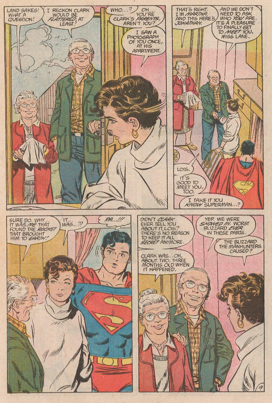 Read online Action Comics (1938) comic -  Issue #597 - 10