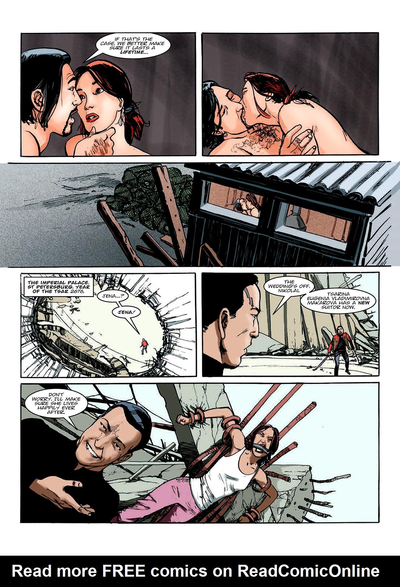 Read online Nikolai Dante comic -  Issue # TPB 10 - 112